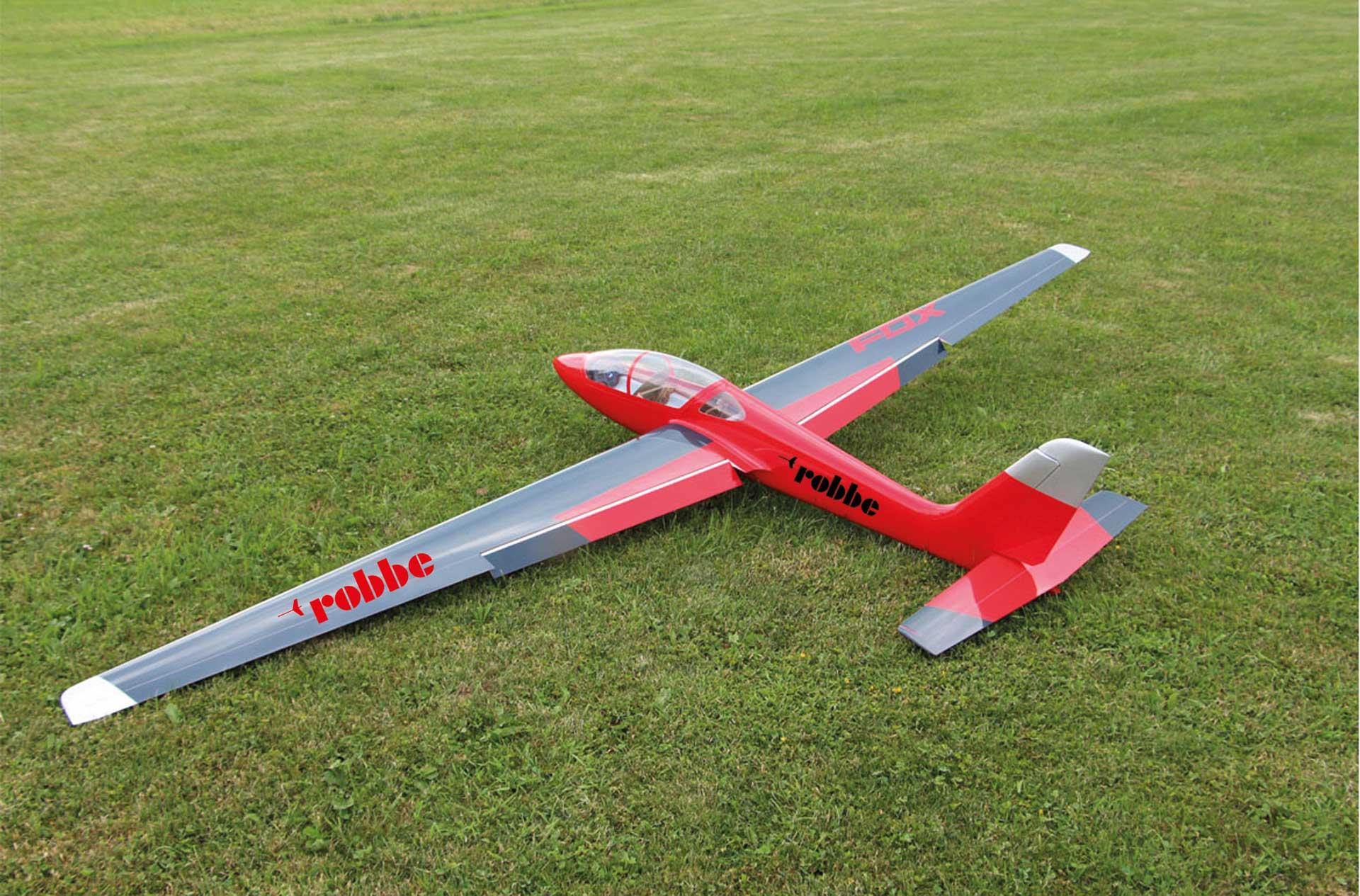 Robbe Modellsport MDM-1 Fox 3,5 m Segler ARF Voll GFK lackiert Kunstflug Segelflugzeug
