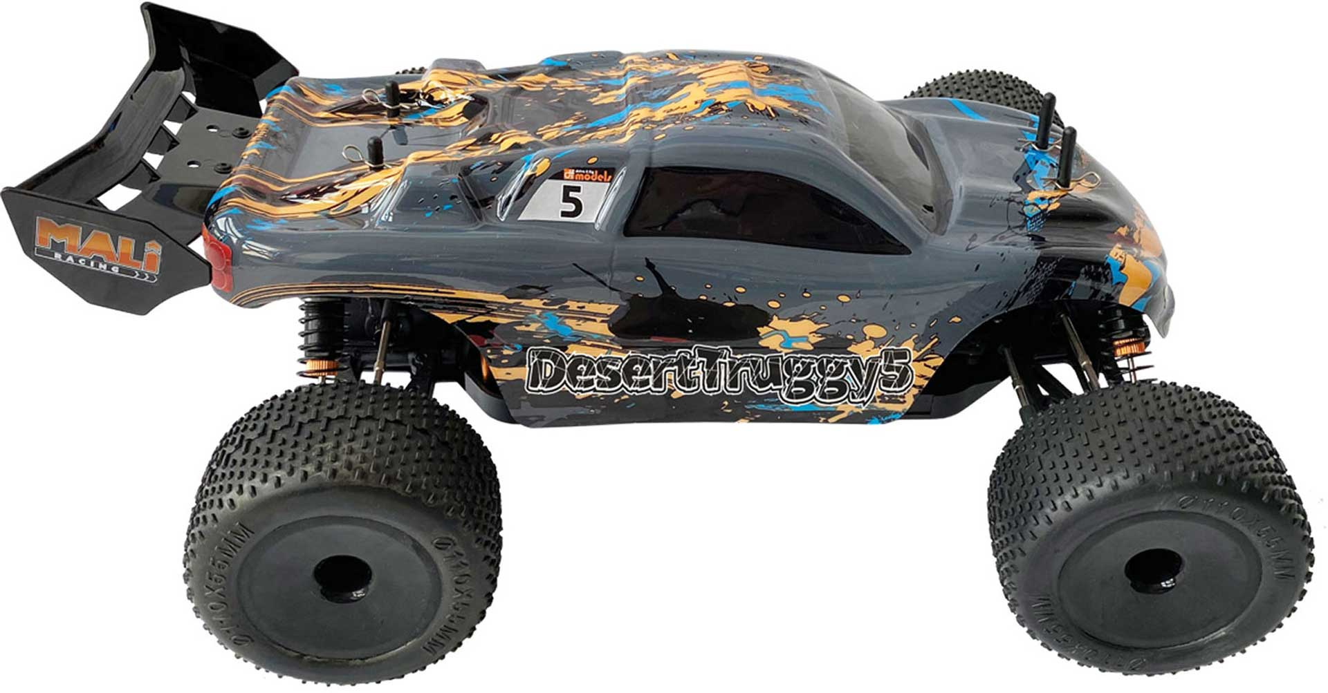 DRIVE & FLY MODELS DESERT TRUGGY 5 TRUGGY BRUSHED RTR 1/10