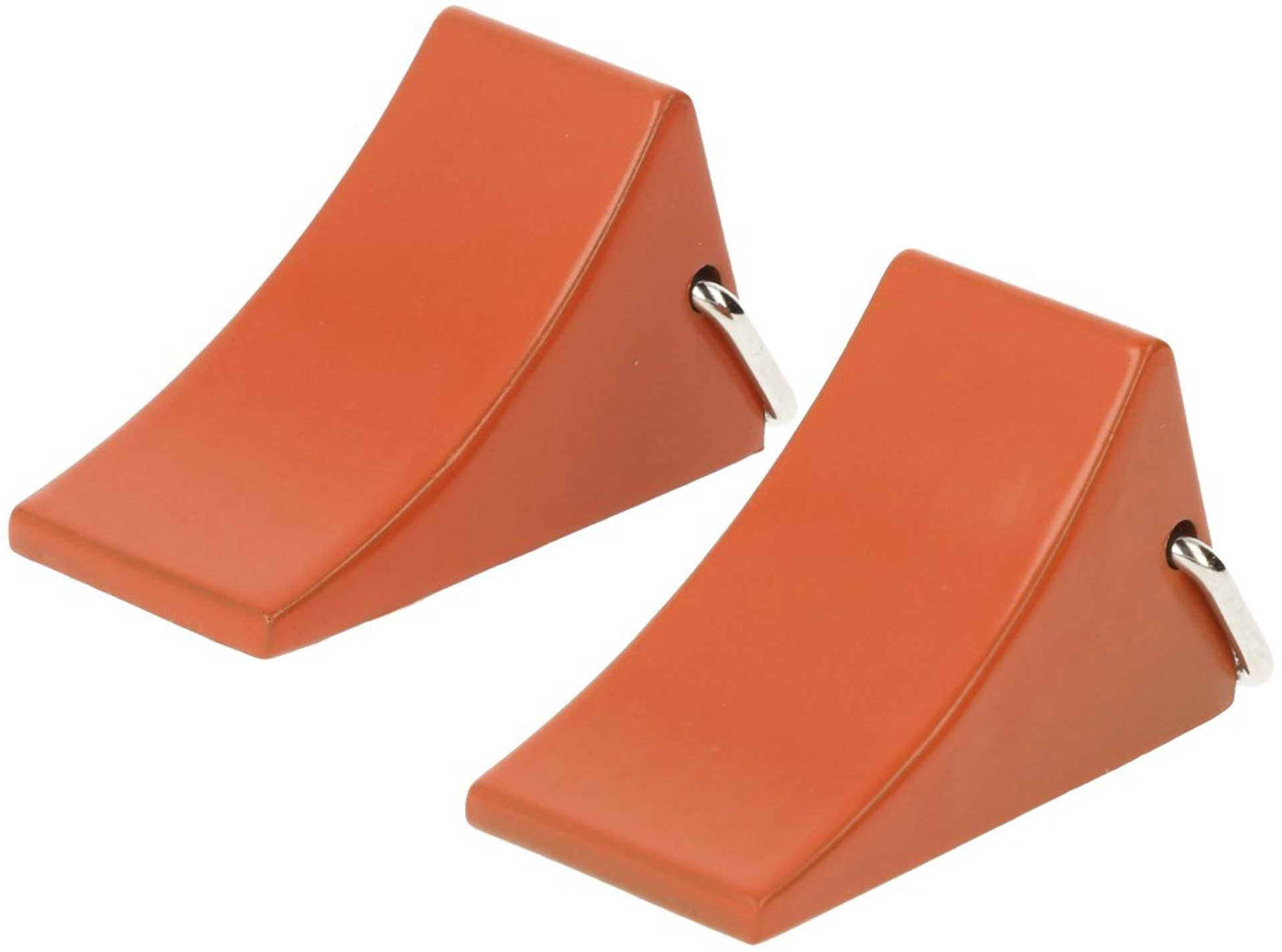 ROBITRONIC Chocks Fuse Orange (2 pcs.) Drag Shoes Cast Iron