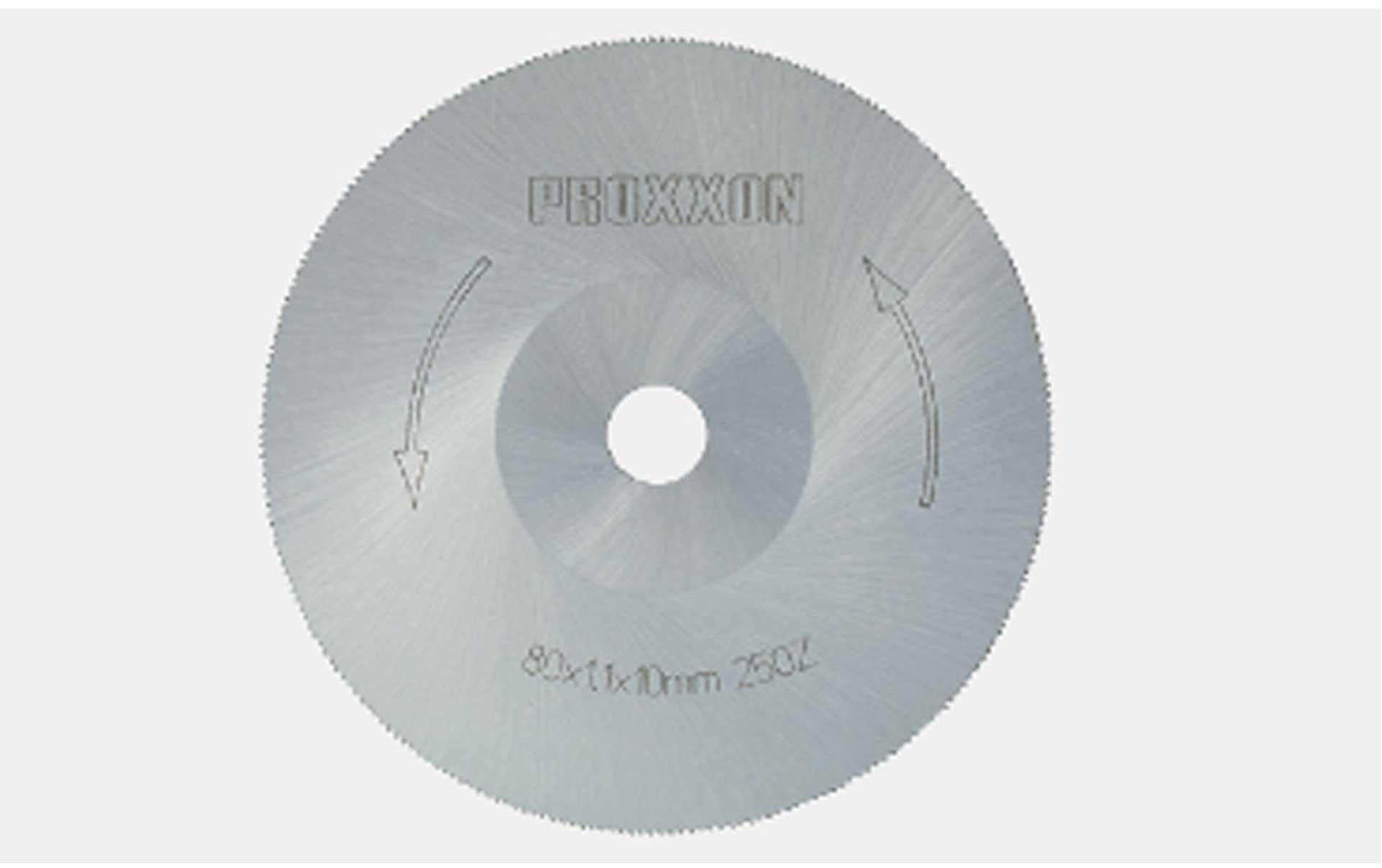 PROXXON CIRCULAR SAW BLADE HSS 80MM