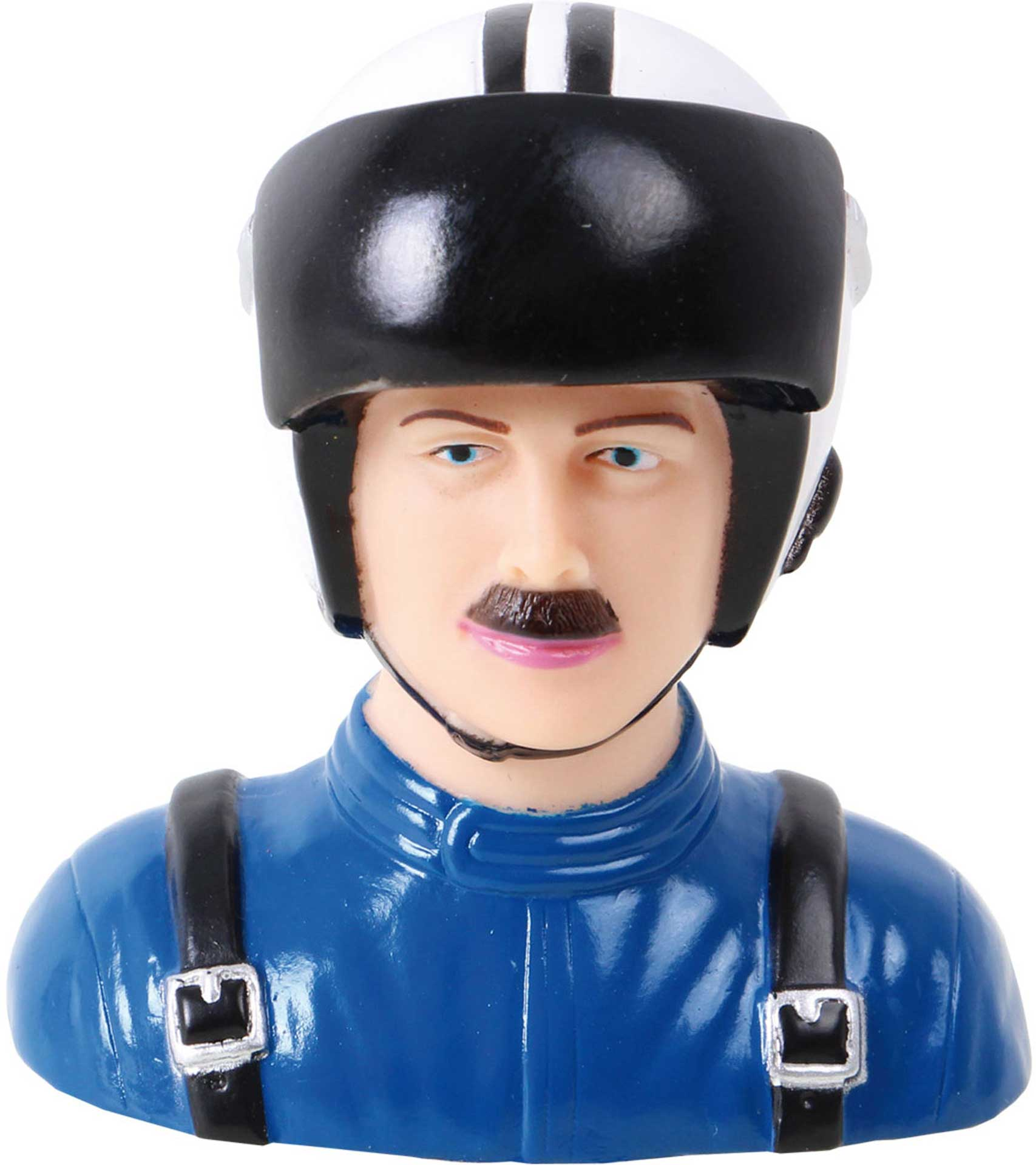 MODELLBAU LINDINGER PILOT CIVIL 1:6 66/43/70MM BLUE