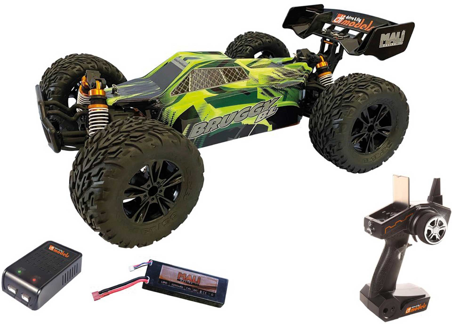 DRIVE & FLY MODELS Bruggy BL brushless 1/10XL RTR