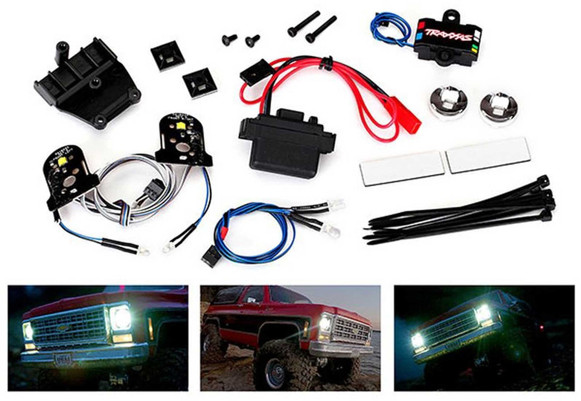 TRAXXAS LED LIGHT SET COMPLETE WITH POWER SUPPLY