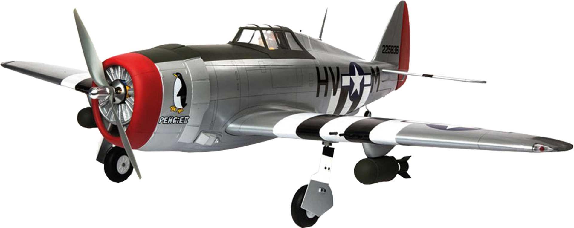HANGAR 9 P-47D THUNDERBOLT 20CC ARF WARBIRD