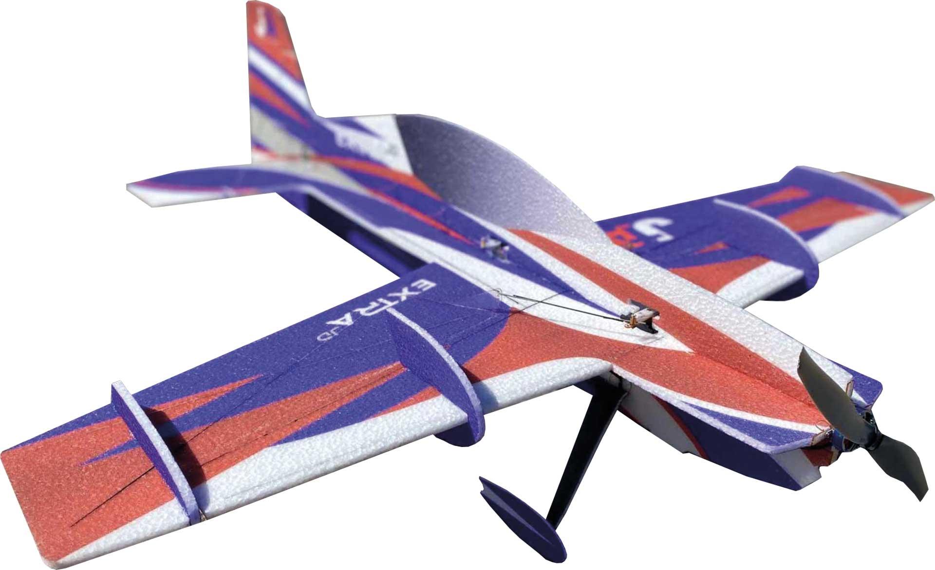 """JTA Innovations Extra JD blau/rot/weiss 32"""" EPP 3D-Kunstflug Modell"""