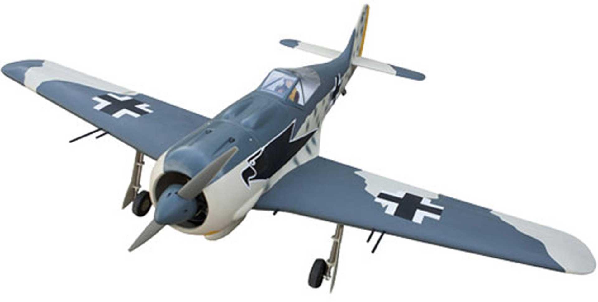 Seagull Models ( SG-Models ) FOCKE WULF FW-190 ARF WARBIRD IN HOLZBAUWEISE