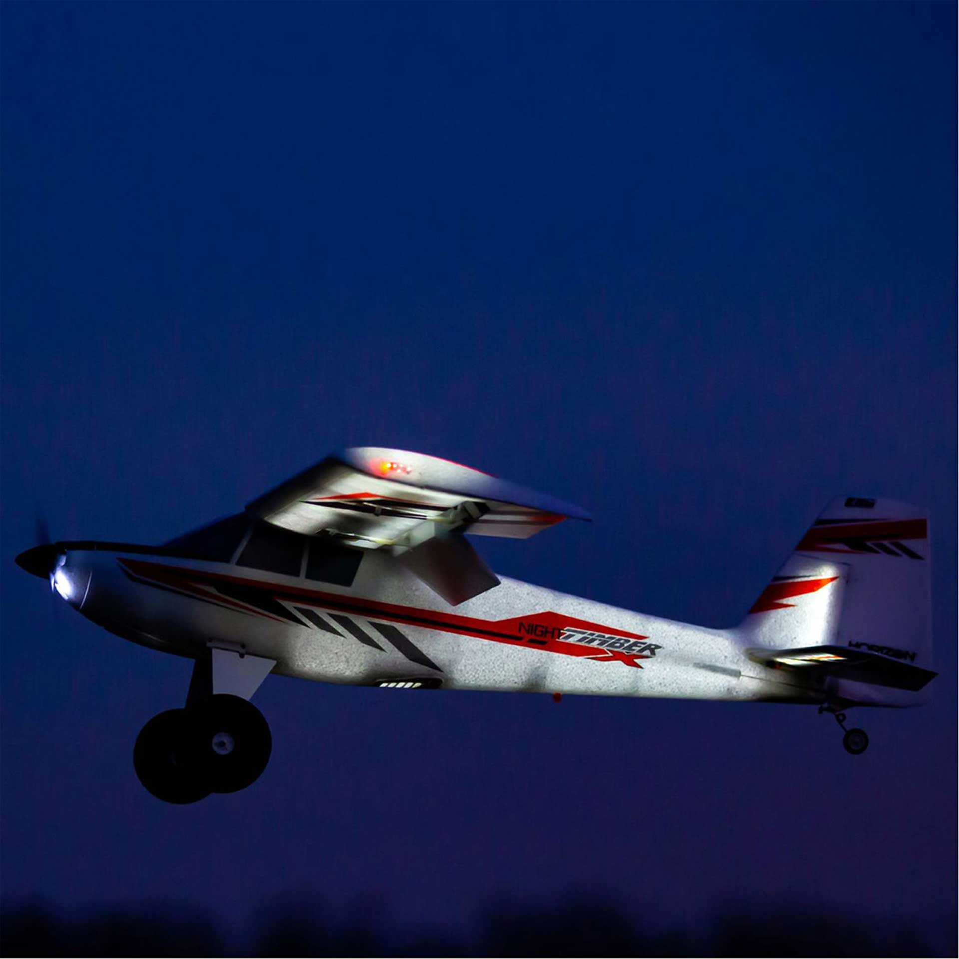 E-Flite Night Timber X 1.2M BNF Basic w/AS3X & SAFE Select