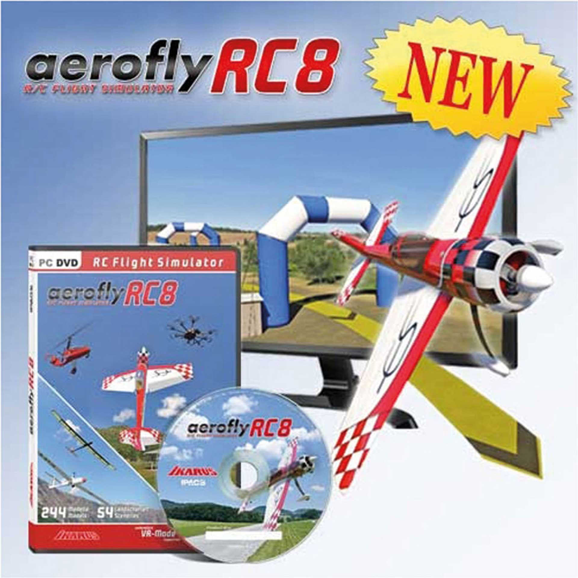 IKARUS AEROFLY RC8 (DVD FÜR WINDOWS)