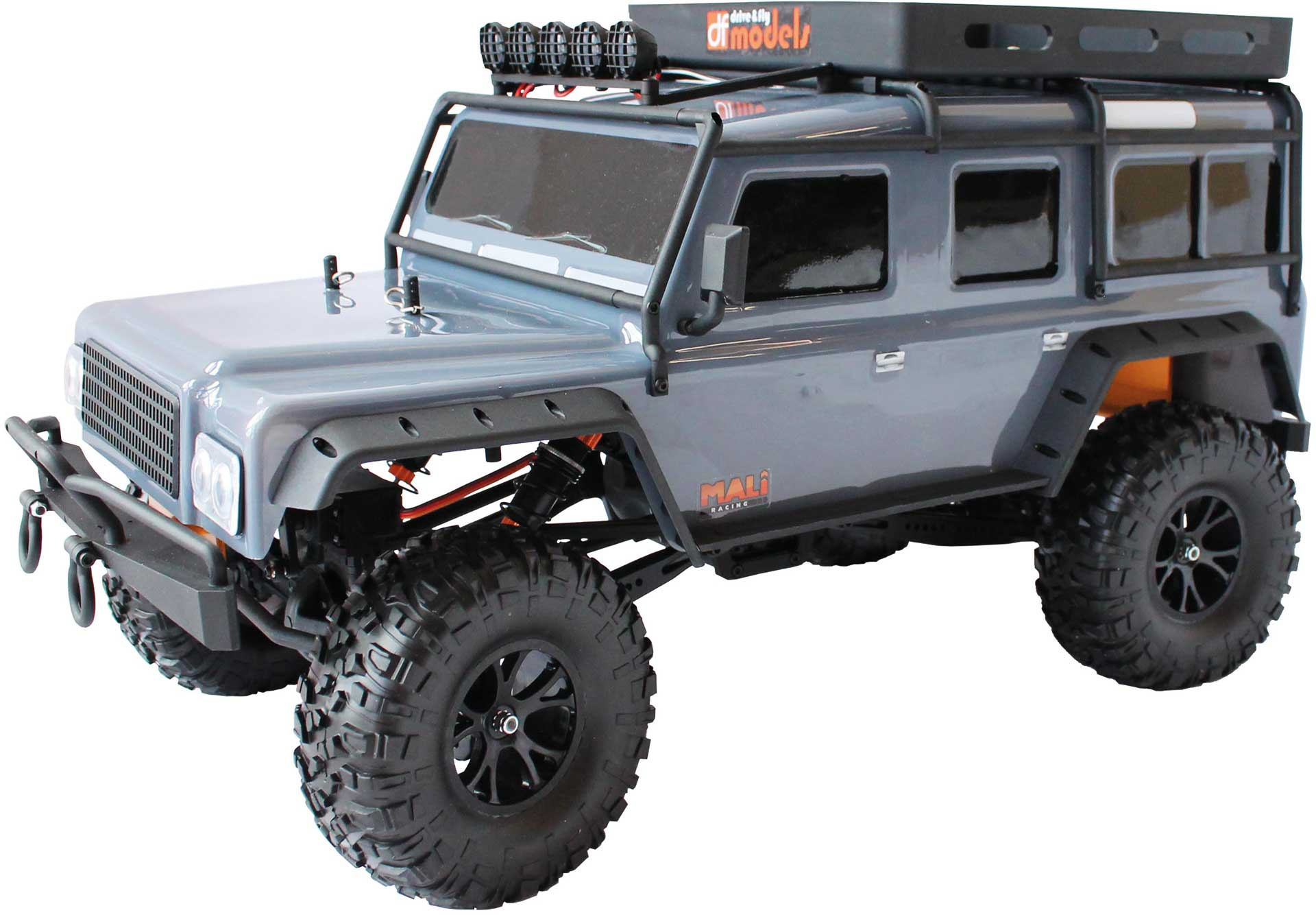 DRIVE & FLY MODELS DF-4J Crawler GREY 2-speed LED - 2021 Edition