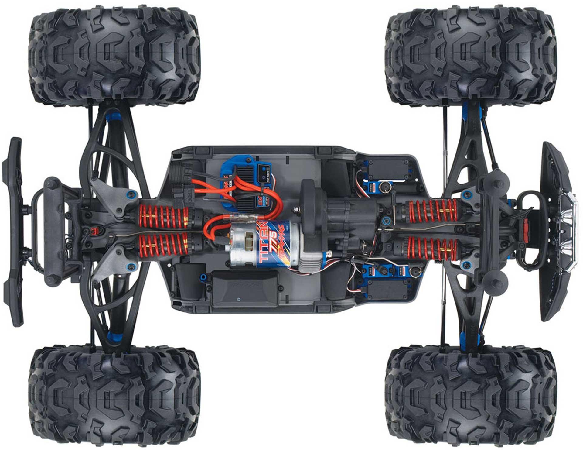 TRAXXAS SUMMIT PURPLE RTR EVX2 1/8 4WD EXTREME TERRAIN MONSTER TRUCK