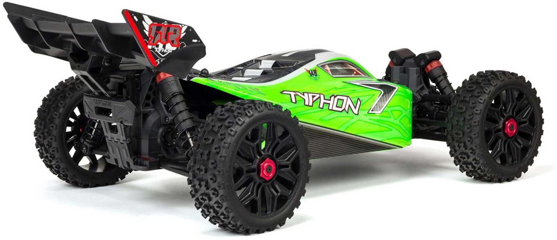 Arrma Typhon 4X4 550 Mega Brushed 1/8TH 4WD Buggy Green