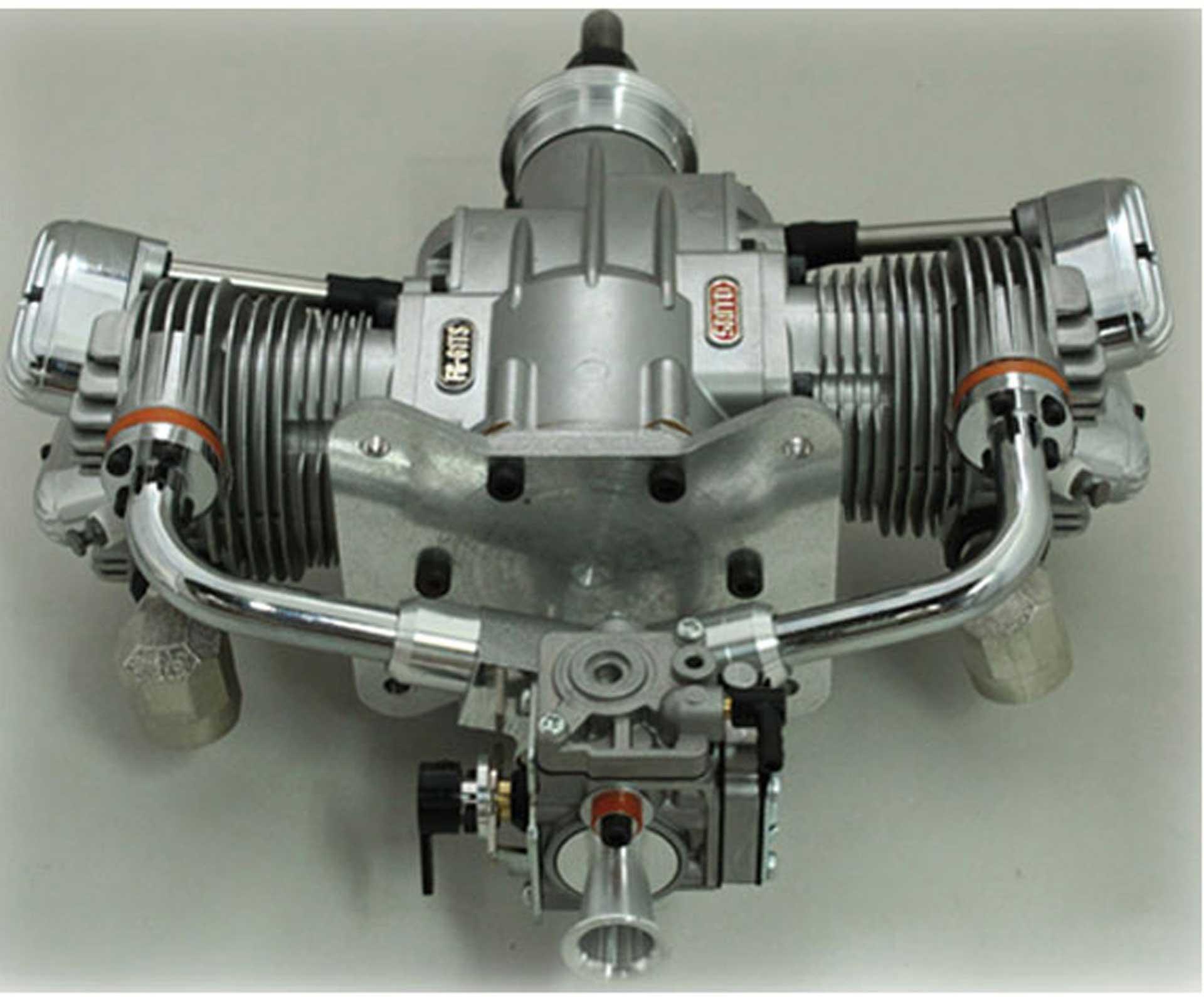 SAITO FG-61TS BENZIN MOTOR 2-ZYLINDER