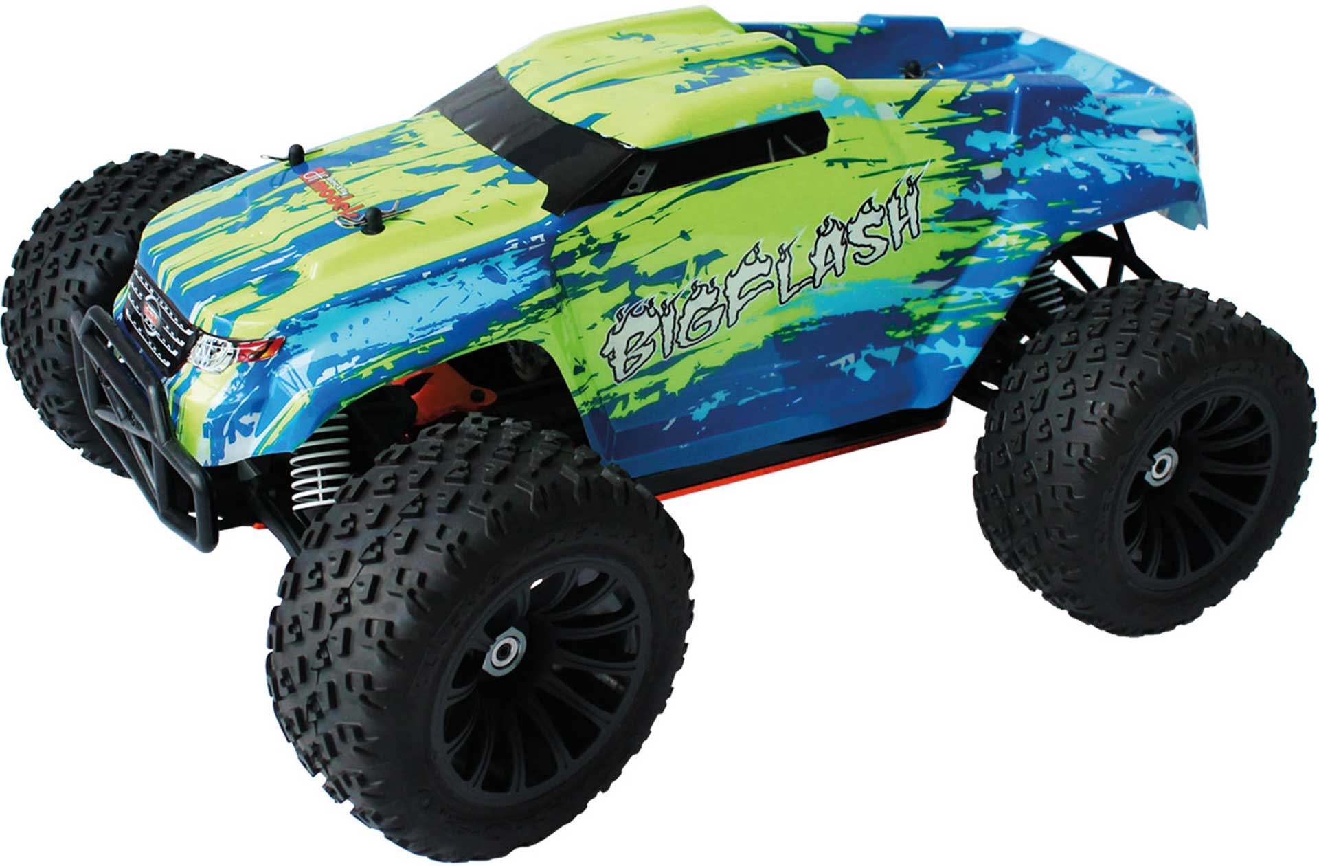 DRIVE & FLY MODELS BIG FLASH BRUSHED 1/10 XL TRUCK RTR 4WD