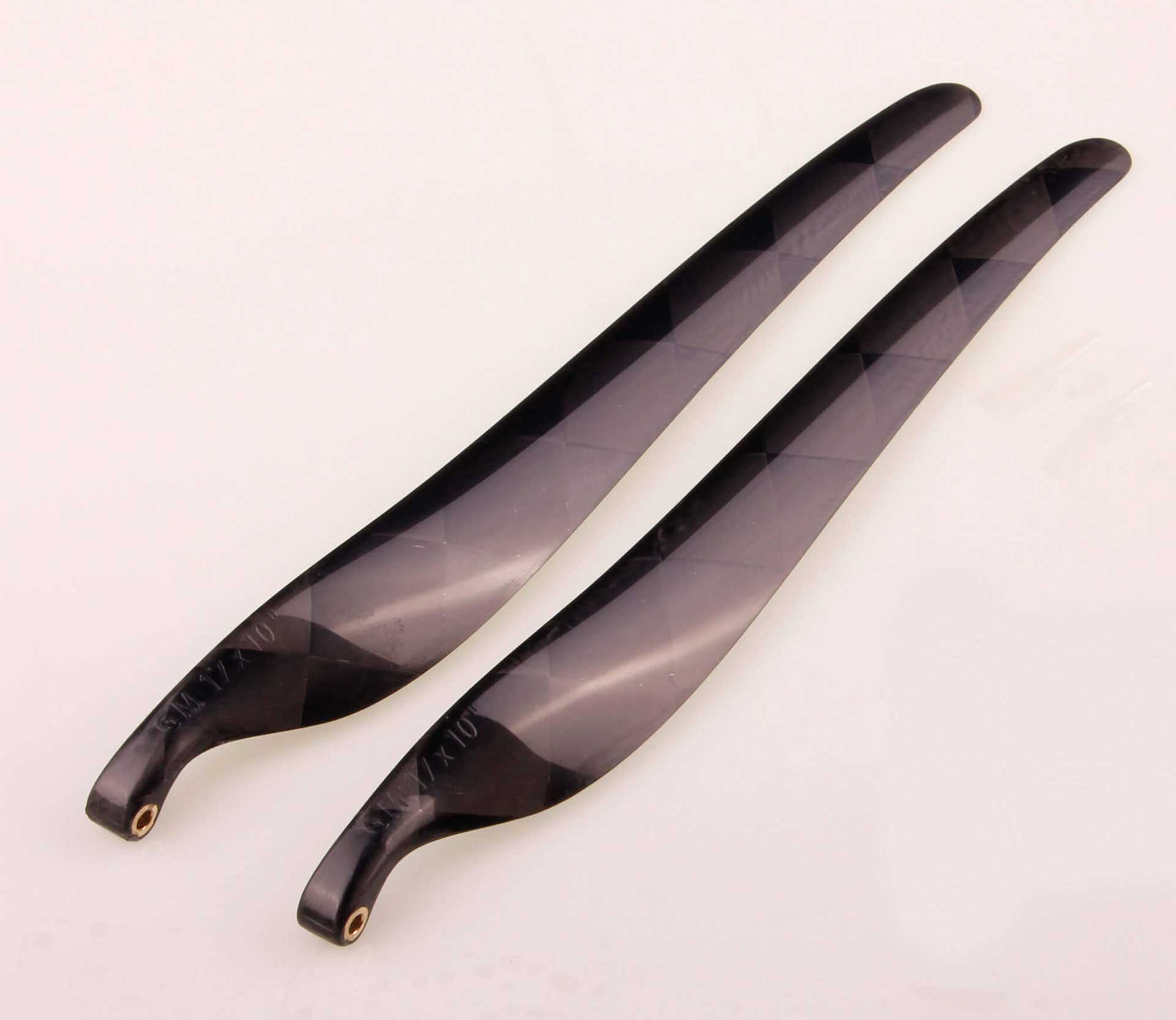 GM Propellers Folding propeller F5J 17x10 Carbon black 1 pair