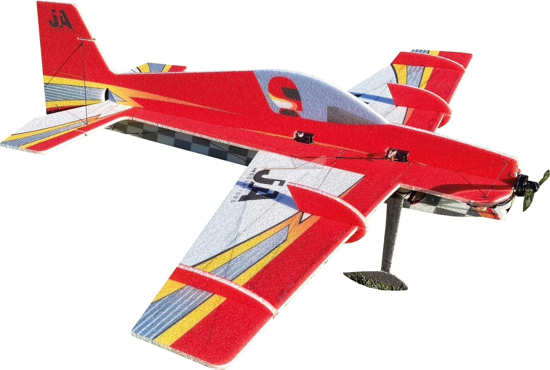 """JTA Innovations SLICK (rot/weiss) 33"""" EPP 3D-Kunstflug Modell"""