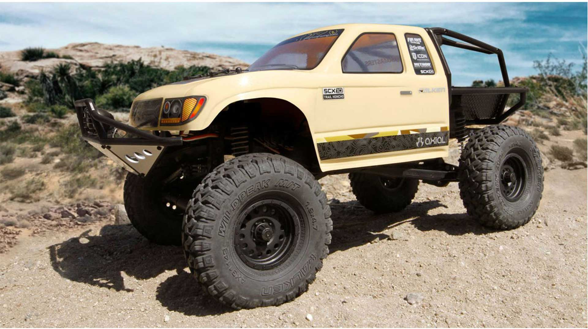 AXIAL SCX10 II TRAIL HONCHO 4WD 1/10 RTR WITHOUT  BATTERY  AND CHARGING DEVICE