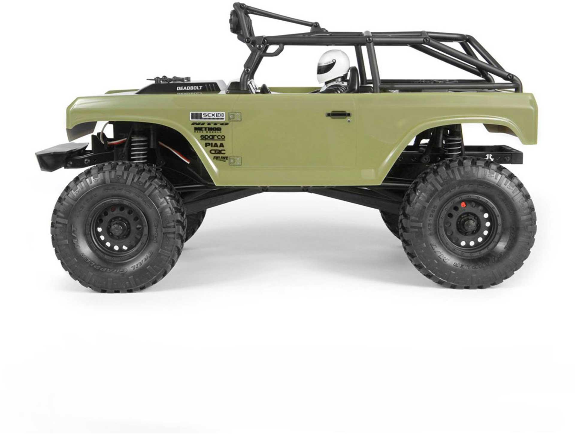 AXIAL DEADBOLT SCX10 4WD RTR EP 1/10