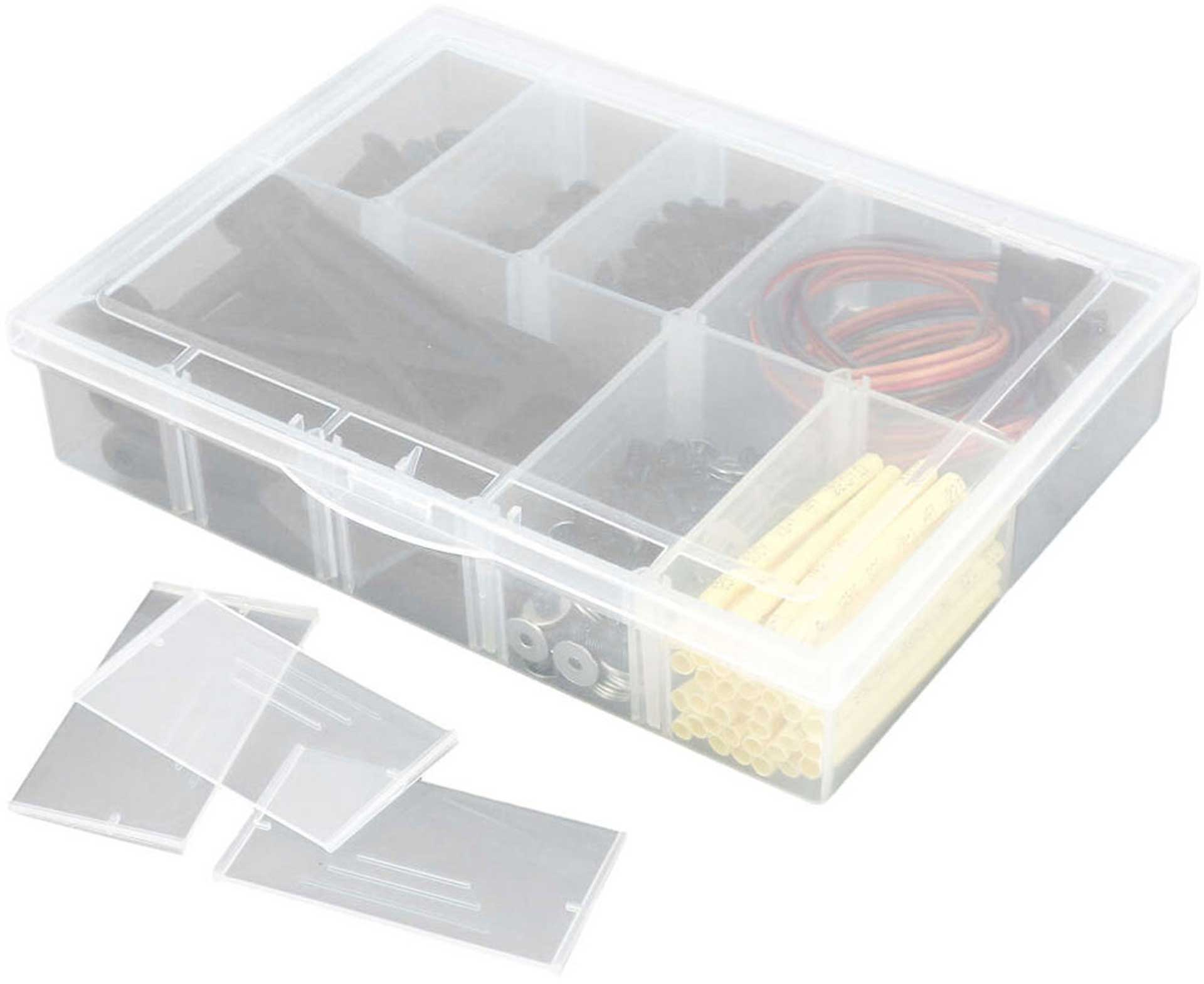 ROBITRONIC ASSORTMENT BOX 10 COMPARTMENTS 134X100X29MM VARIABLE