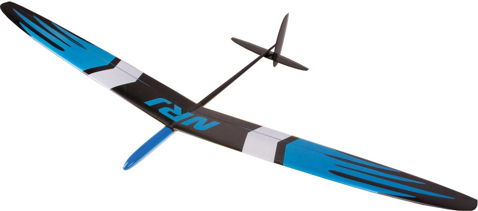 OA-COMPOSITES NRJ F3K BLUE # 5 EXTREME 60 SPIN GLIDER