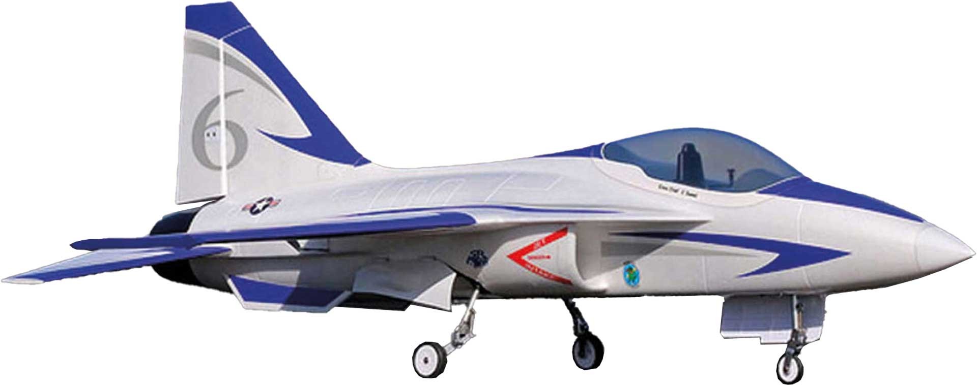 PREMIER AIRCRAFT FLEXJET 90MM EDF IMPELLER JET SUPER PNP BLUE WITH AURA 8 AFCS