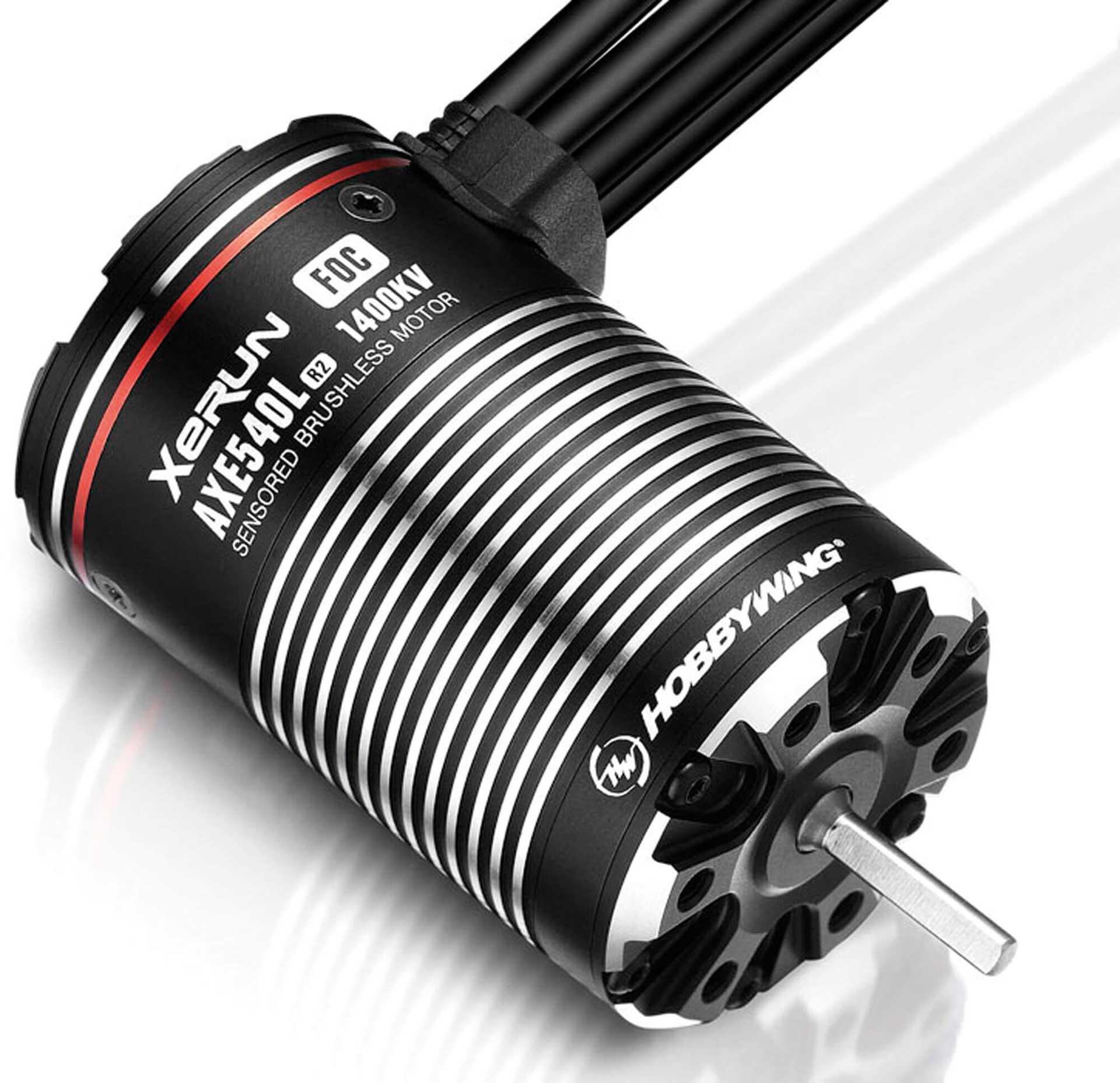 HOBBYWING Xerun AXE540L R2 1400KV Motor für Rock Crawler