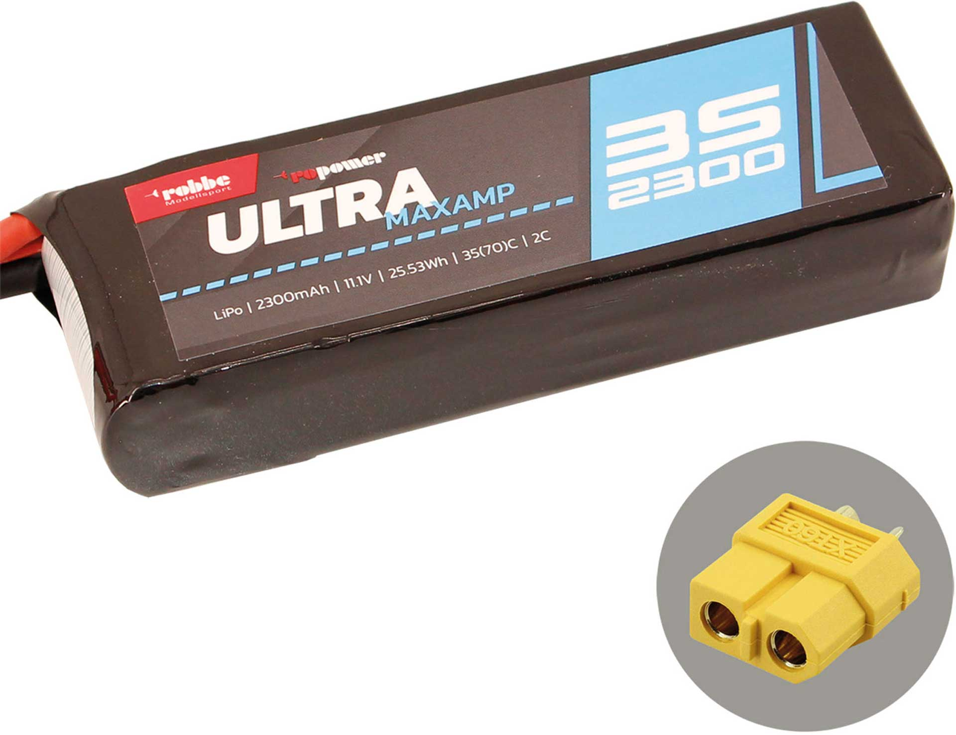 ROBBE RO-POWER ULTRA MAXAMP 2300MAH 11,1 VOLT