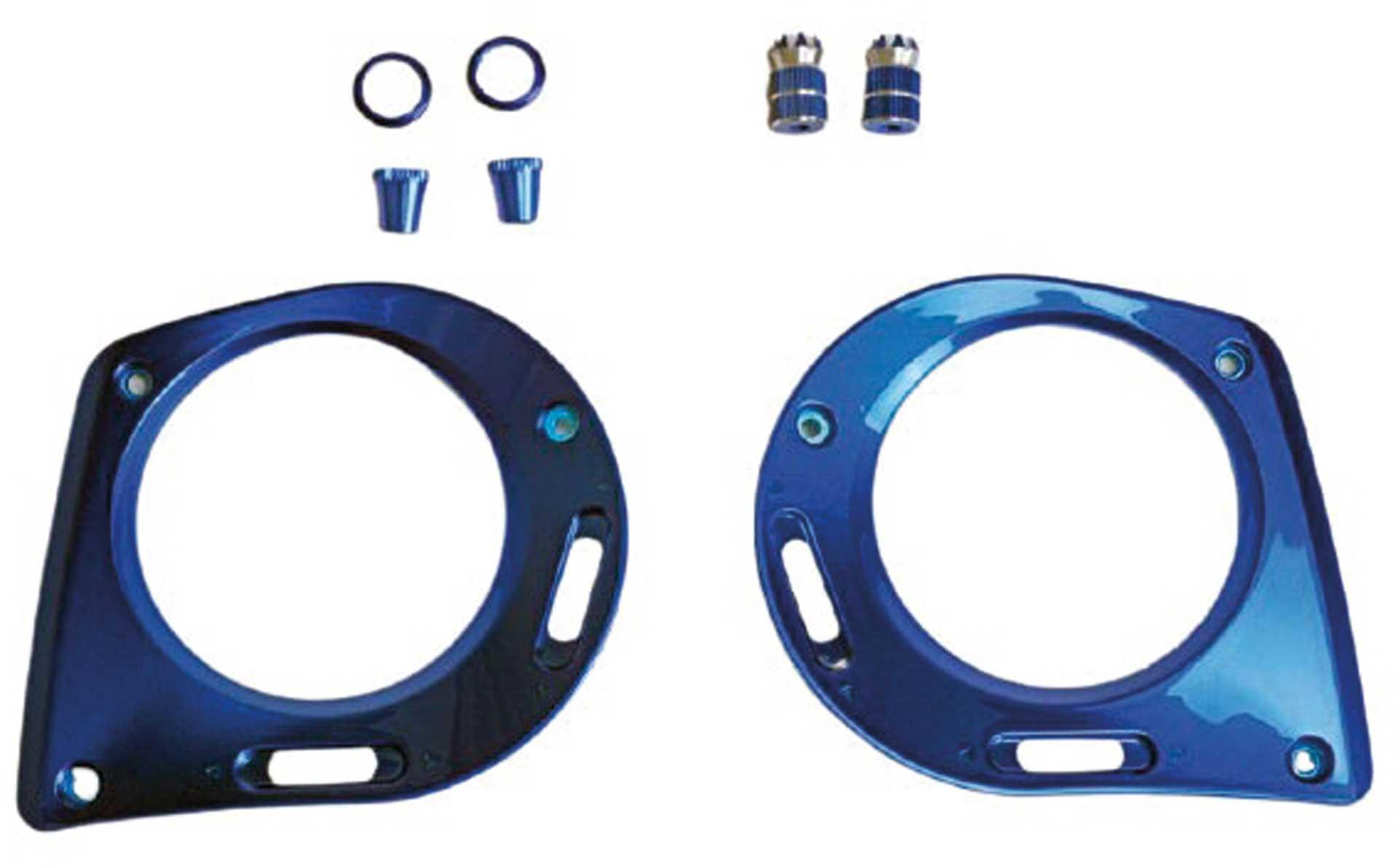 GRAUPNER MZ-32 / MZ-16 Frontplatte + Steuerknüppel blau
