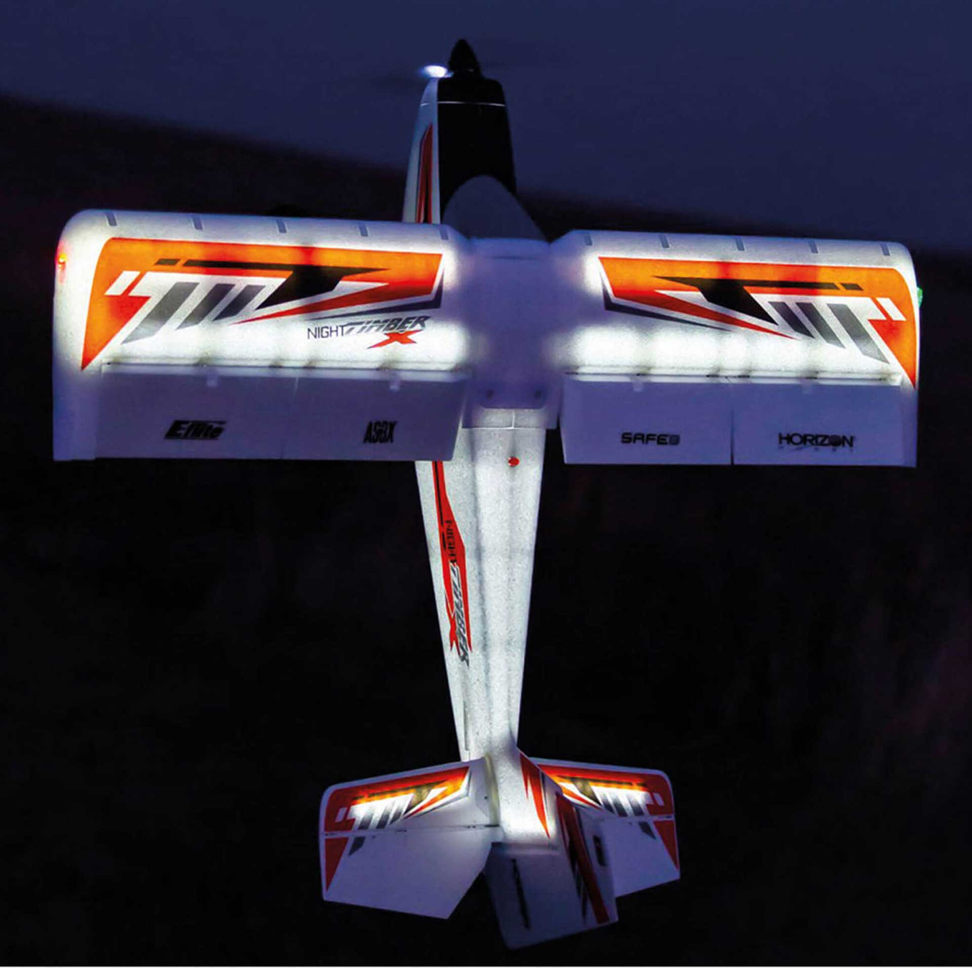 E-Flite Night Timber X 1.2M PNP