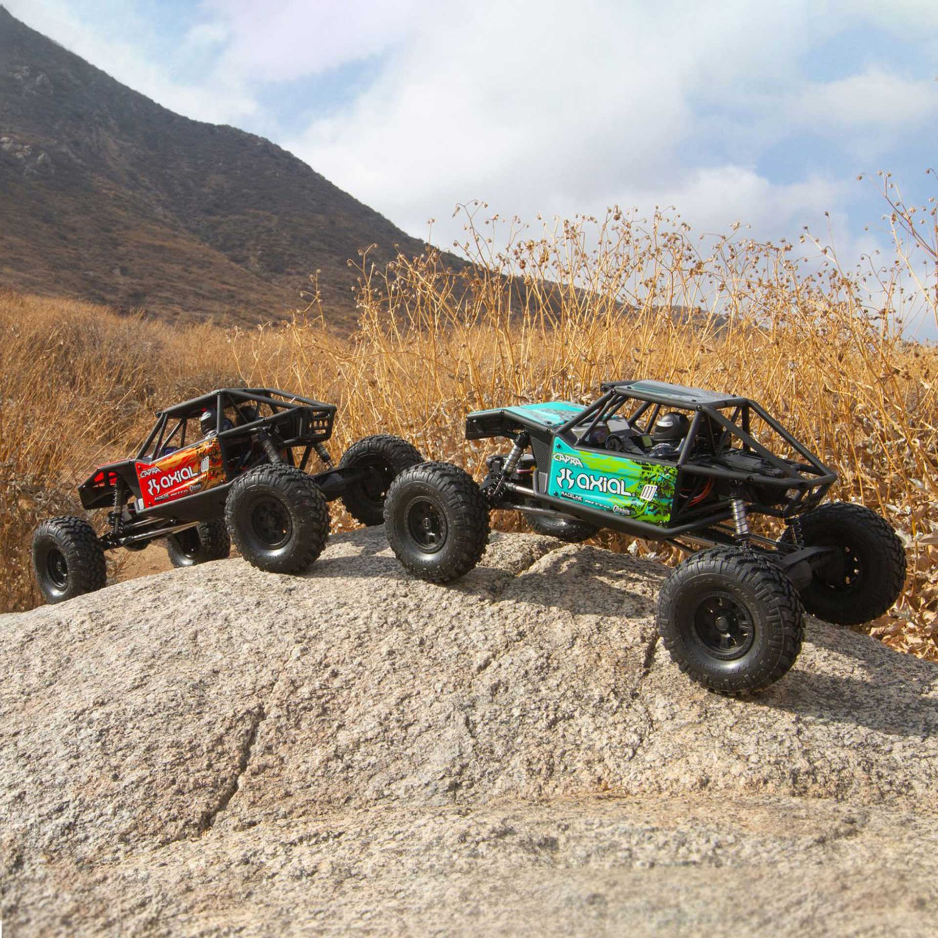 AXIAL CAPRA 1.9 UNLIMITED 4WD RTR TRAIL BUGGY RED/ROT 1/10 CRAWLER