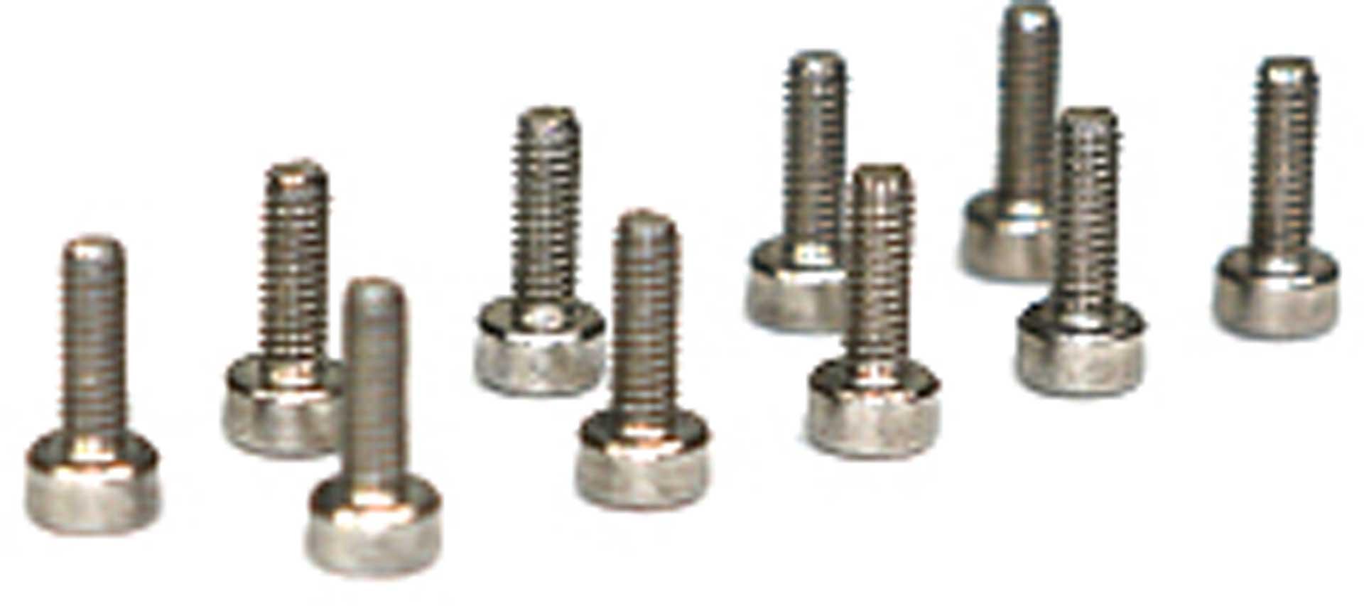 Metsafil Inox Cheesehead screw M2X6 (10 St.)