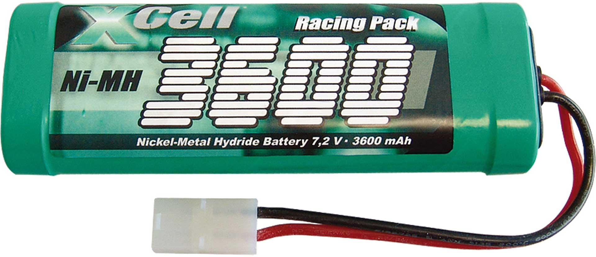 XCELL NI-MH RACINGPACK 3600 MAH 7,2 VOLT
