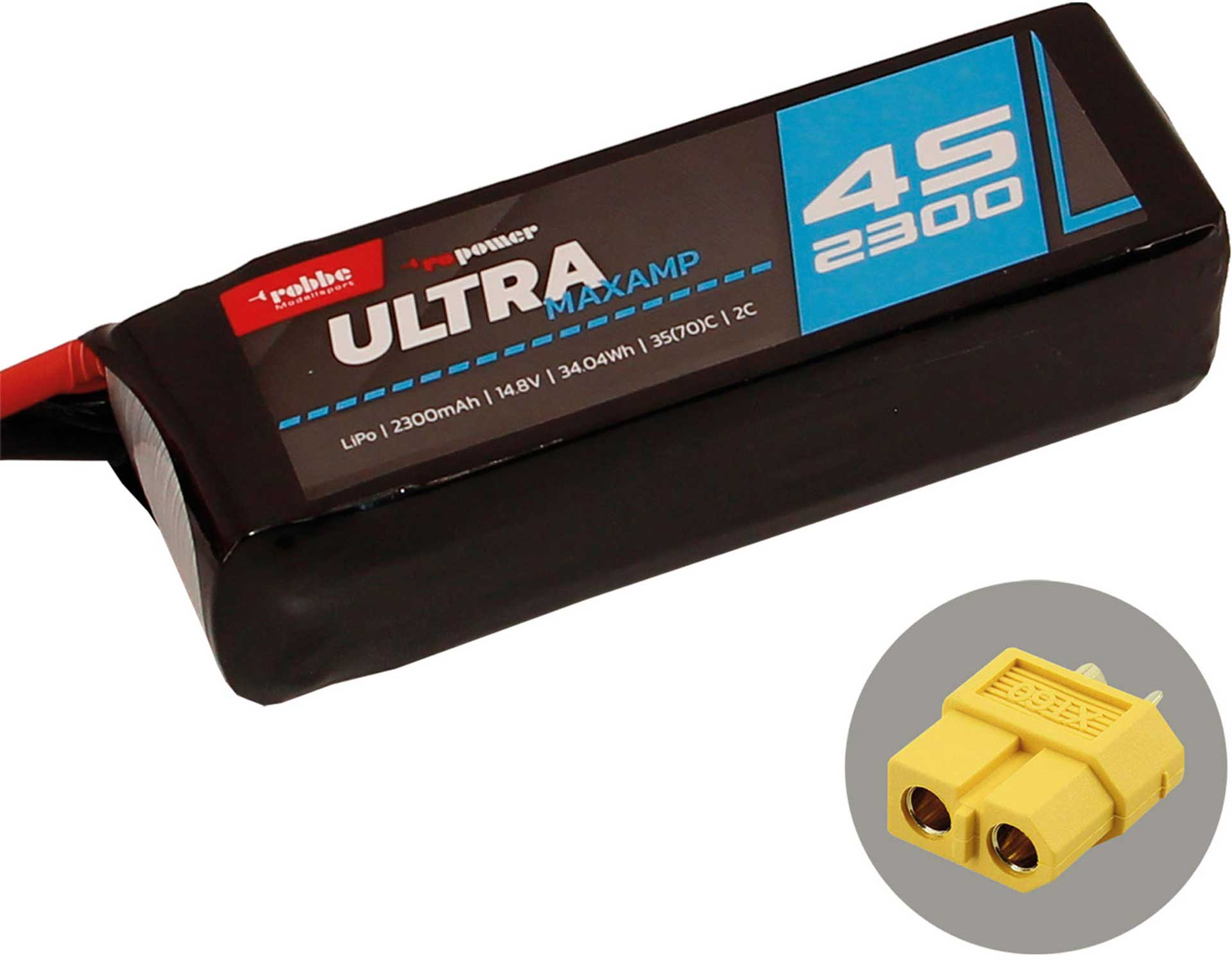 ROBBE RO-POWER ULTRA MAXAMP 2300MAH 14,8 VOLT