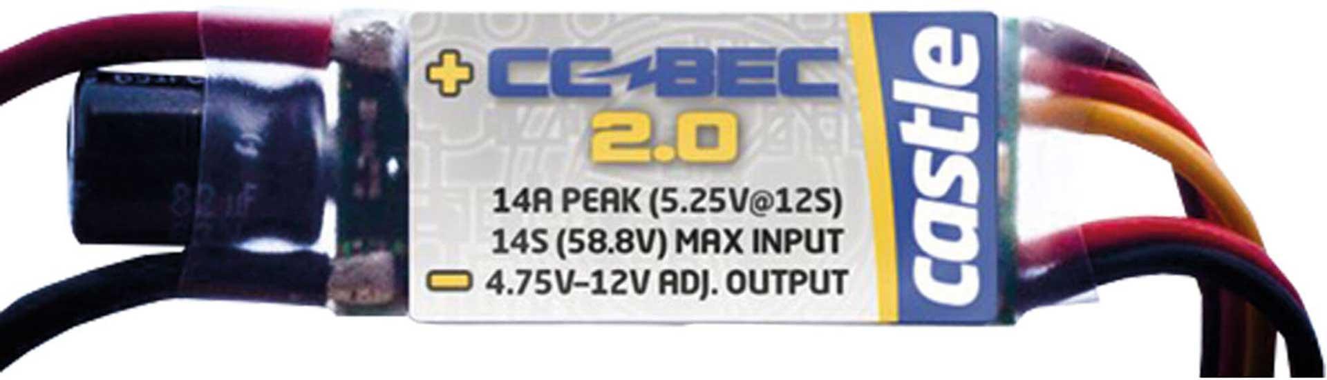 CASTLE CREATION CC BEC 2 -20A 58V -14S
