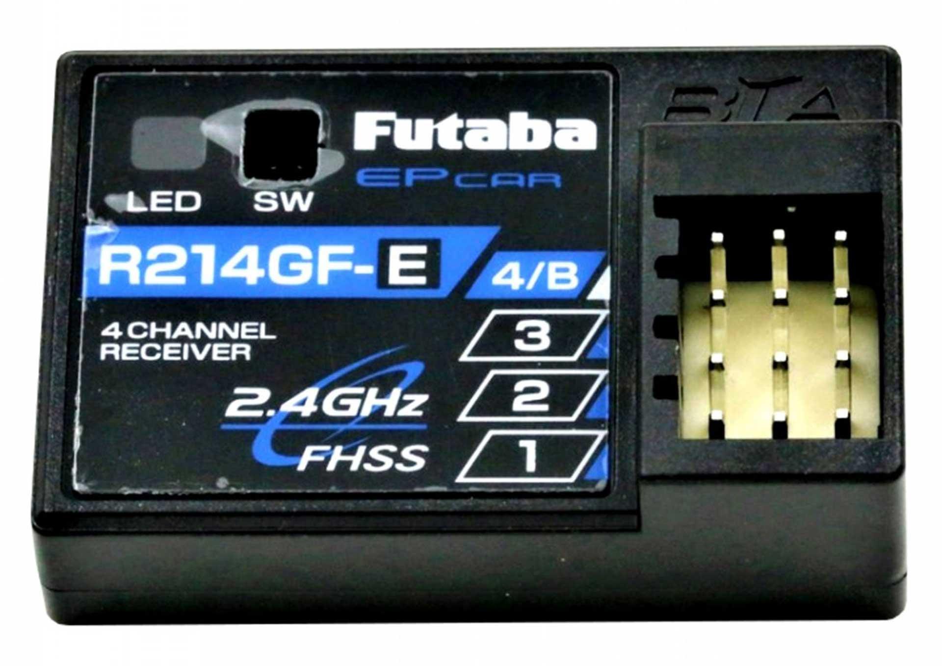 FUTABA ATTACK T4YWD FHSS + R214FGE HSS 2,4Ghz FERNSTEUERUNG