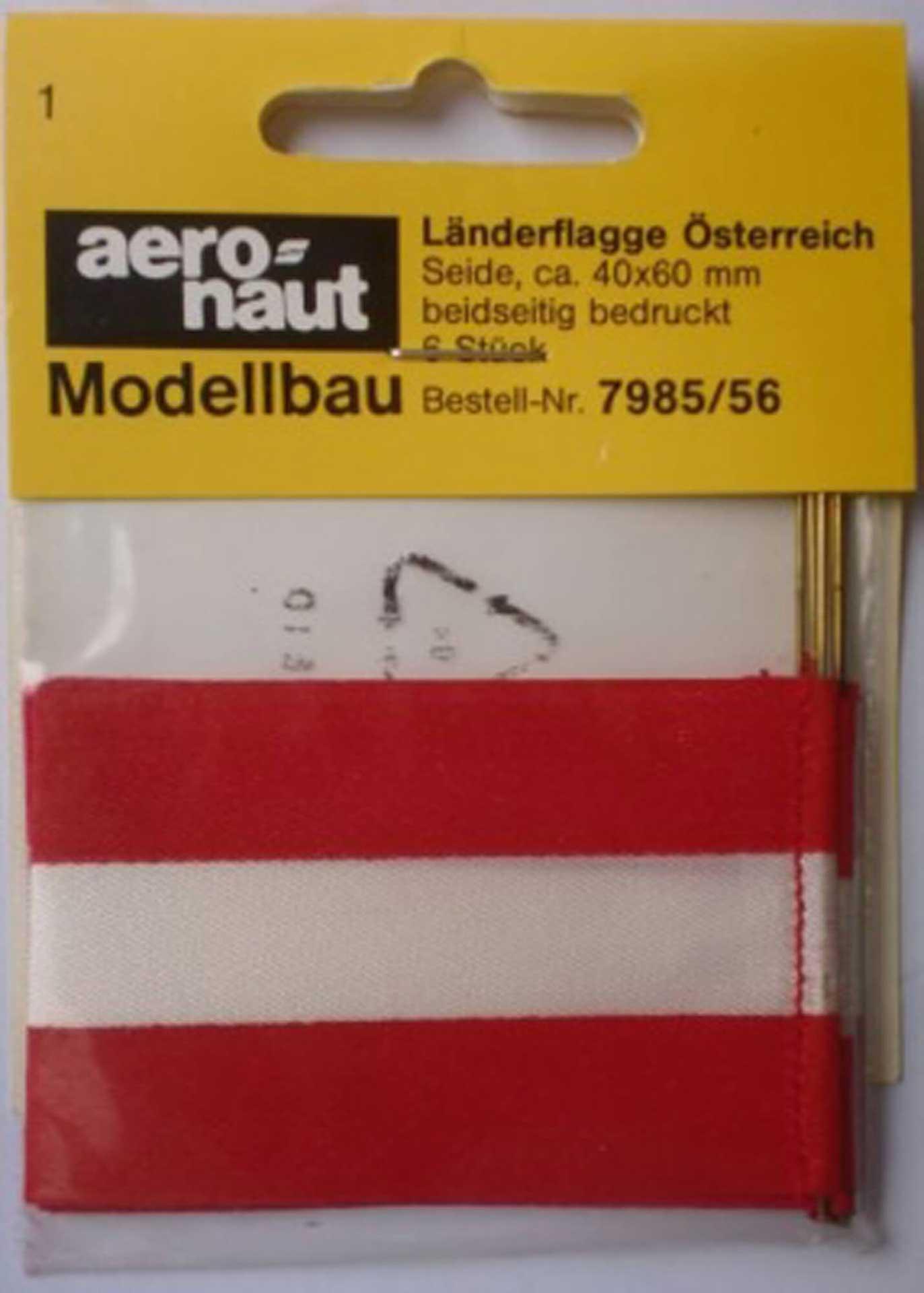 AERONAUT FLAG  AUSTRIA  VE 10 STK.