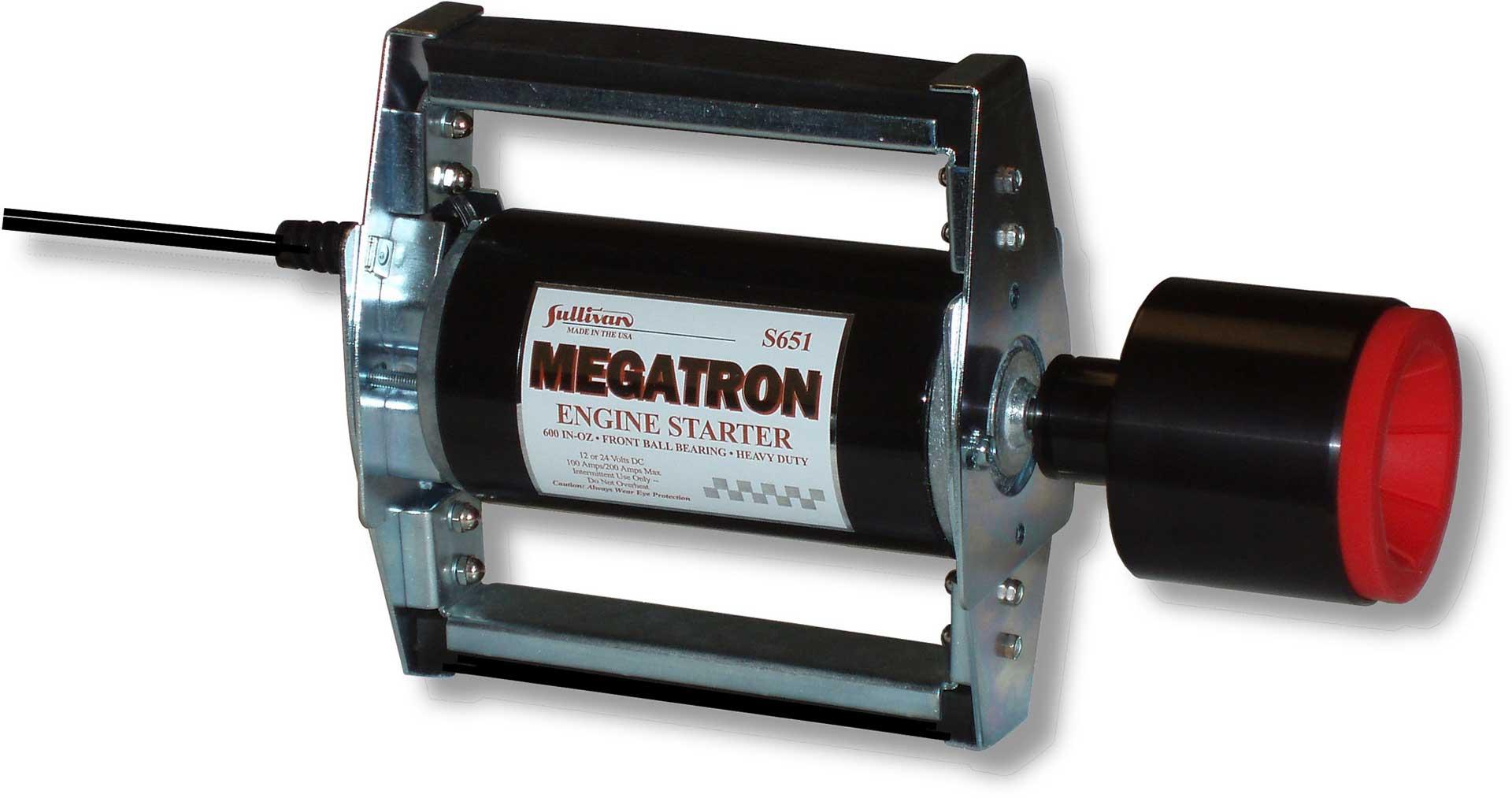SULLIVAN MEGATRON STARTER 12/24V TO 80CCM