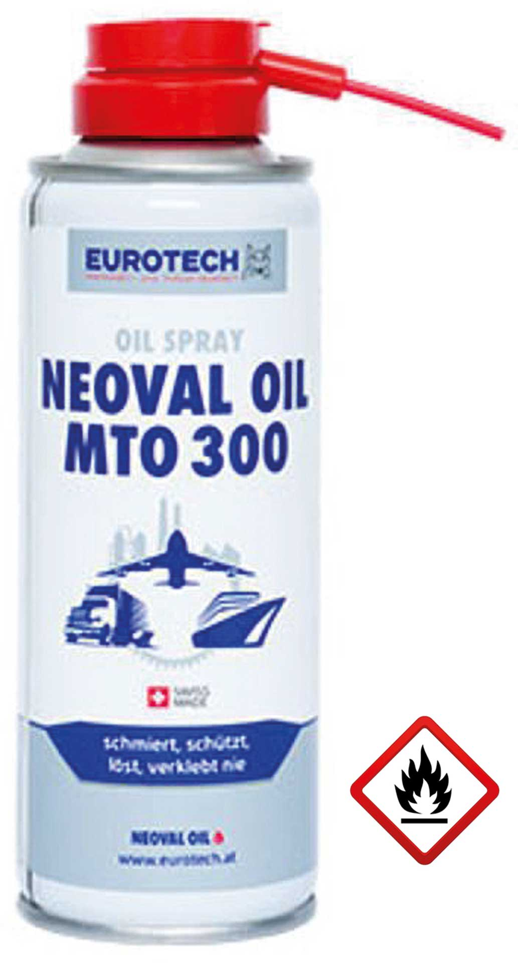 EUROTECH NEOVAL OIL MTO 300 200ML