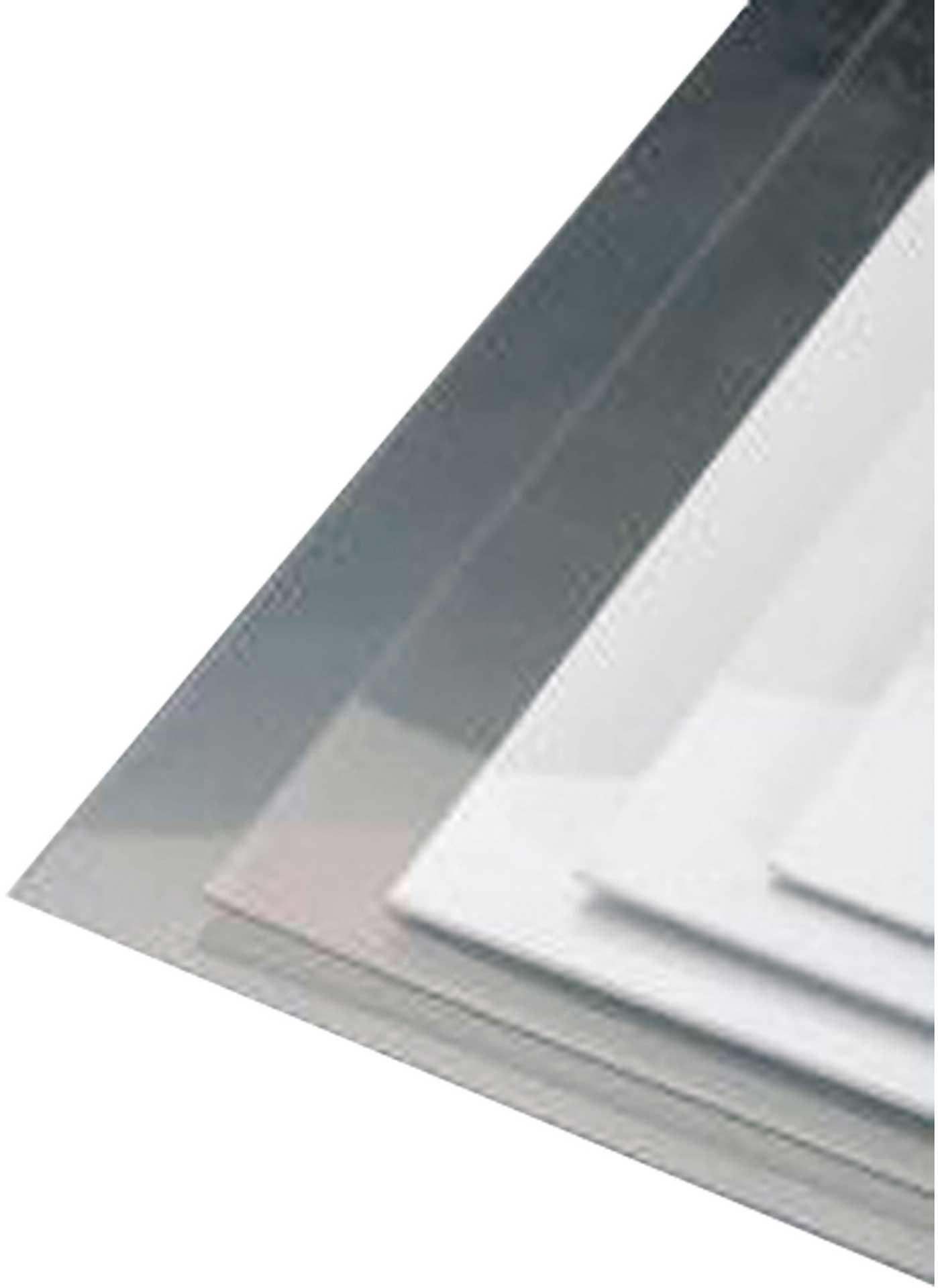 SENOVA PVC-GLAS TRANSPARENT 1,5/330/500MM TIEFZIEHGLAS