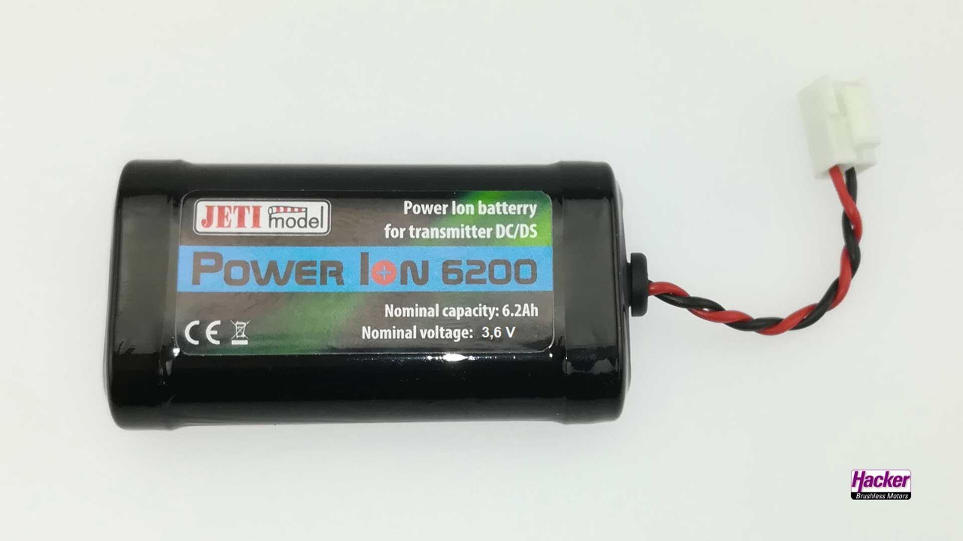 HACKER SENDERAKKU POWER ION 6200 DC/DS SENDER
