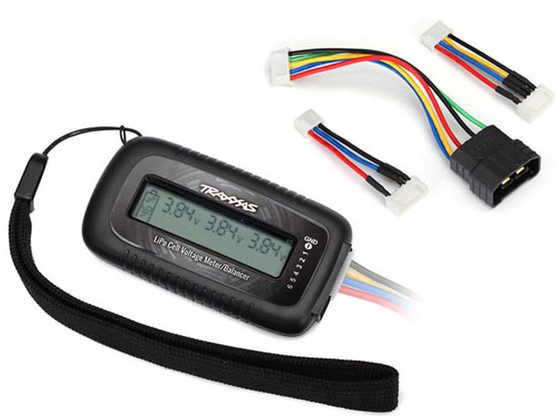 TRAXXAS LiPo cell voltage checker/balancer (enthält #2938X für TRX i