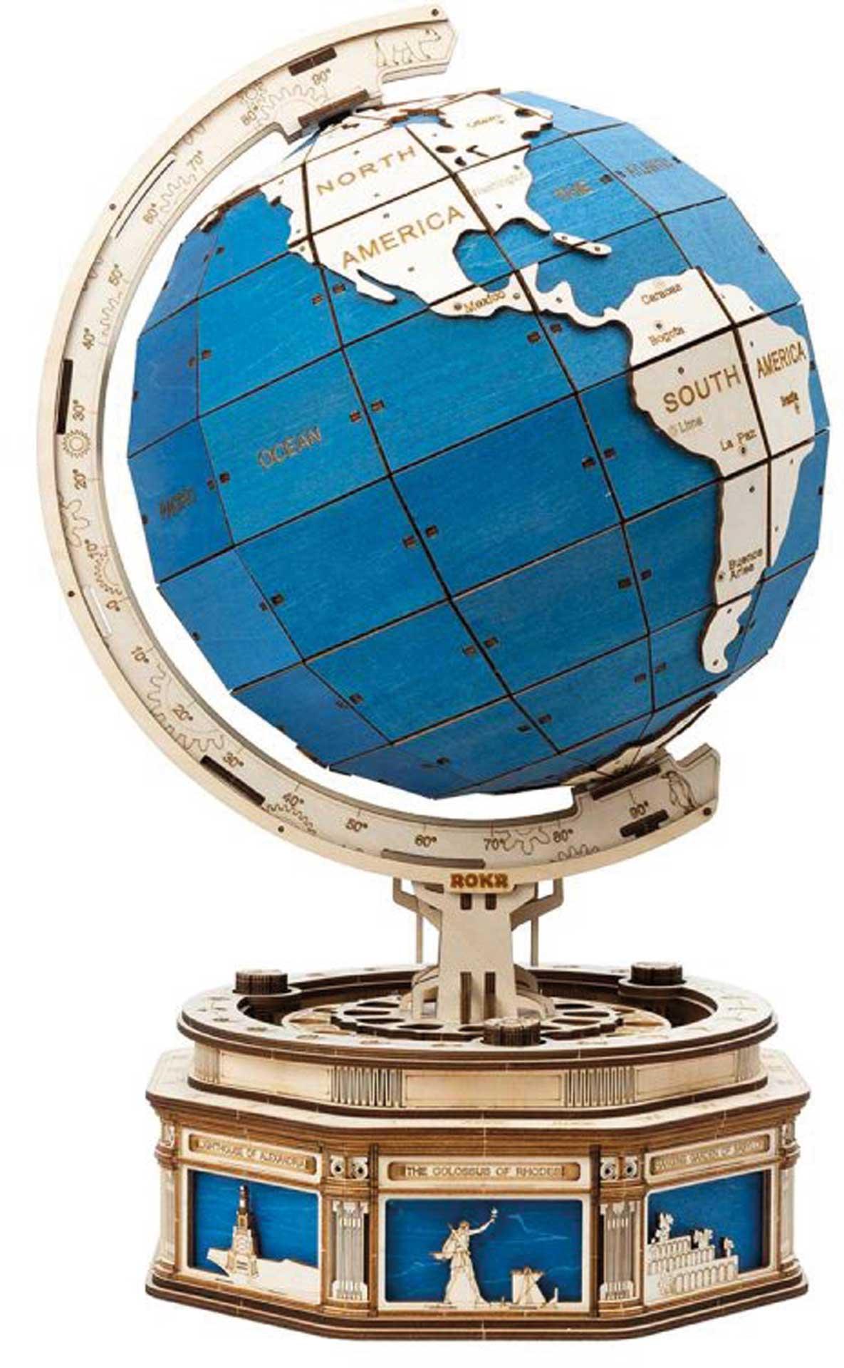PICHLER Globus (Lasercut Holzbausatz)