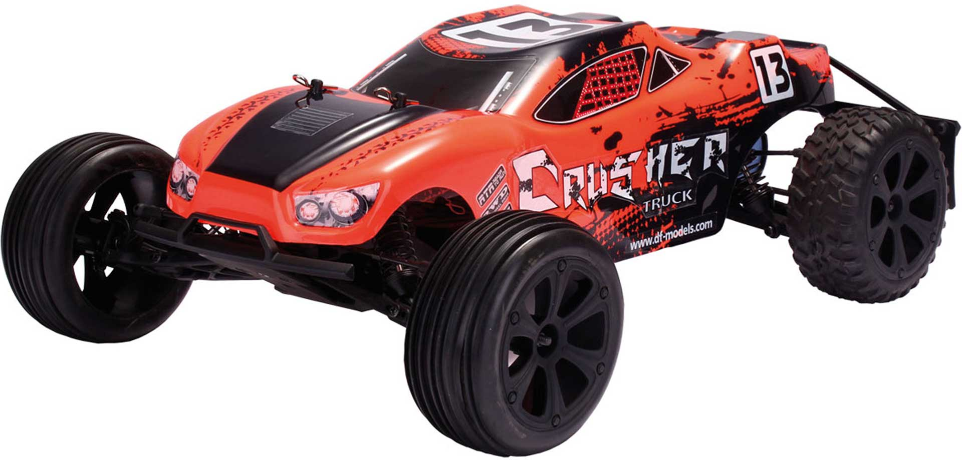 DRIVE & FLY MODELS CRUSHER TRUCK 2WD RTR 1/10