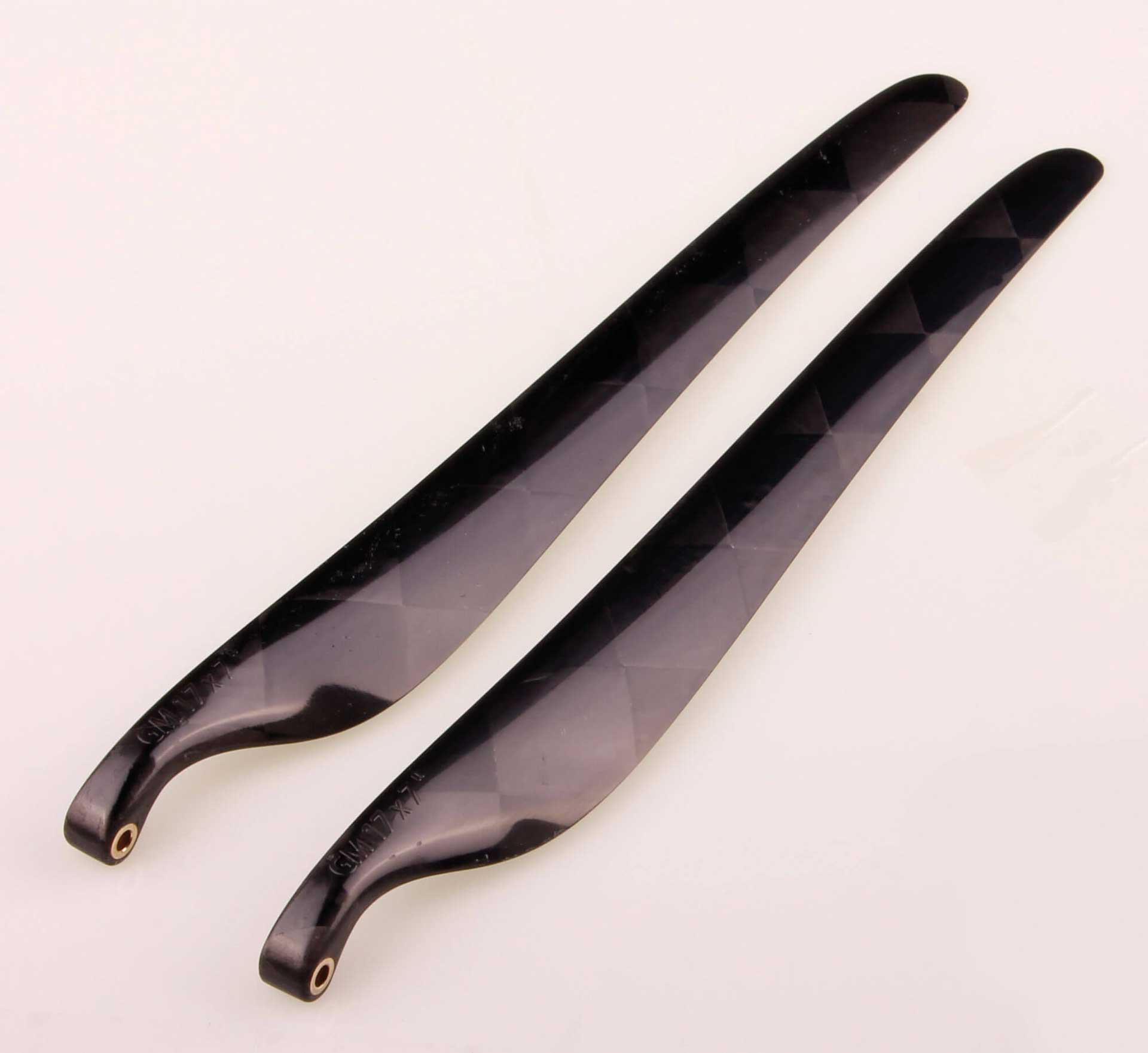 GM Propellers Folding propeller F5J 17x7 Carbon black 1 pair