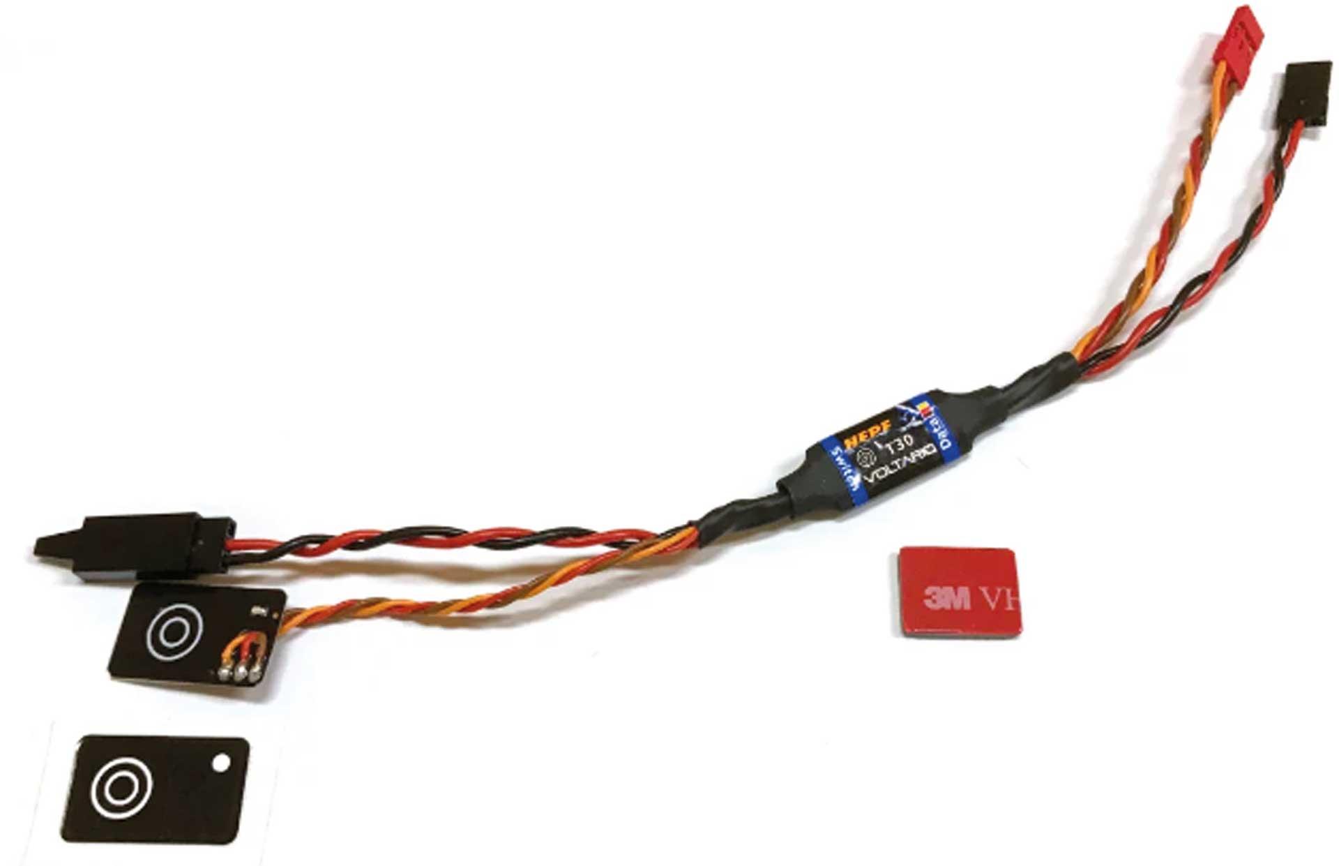 Hepf Voltario T30 Schalter und Telemetrie Überwachung der Stromversorgung im Modell