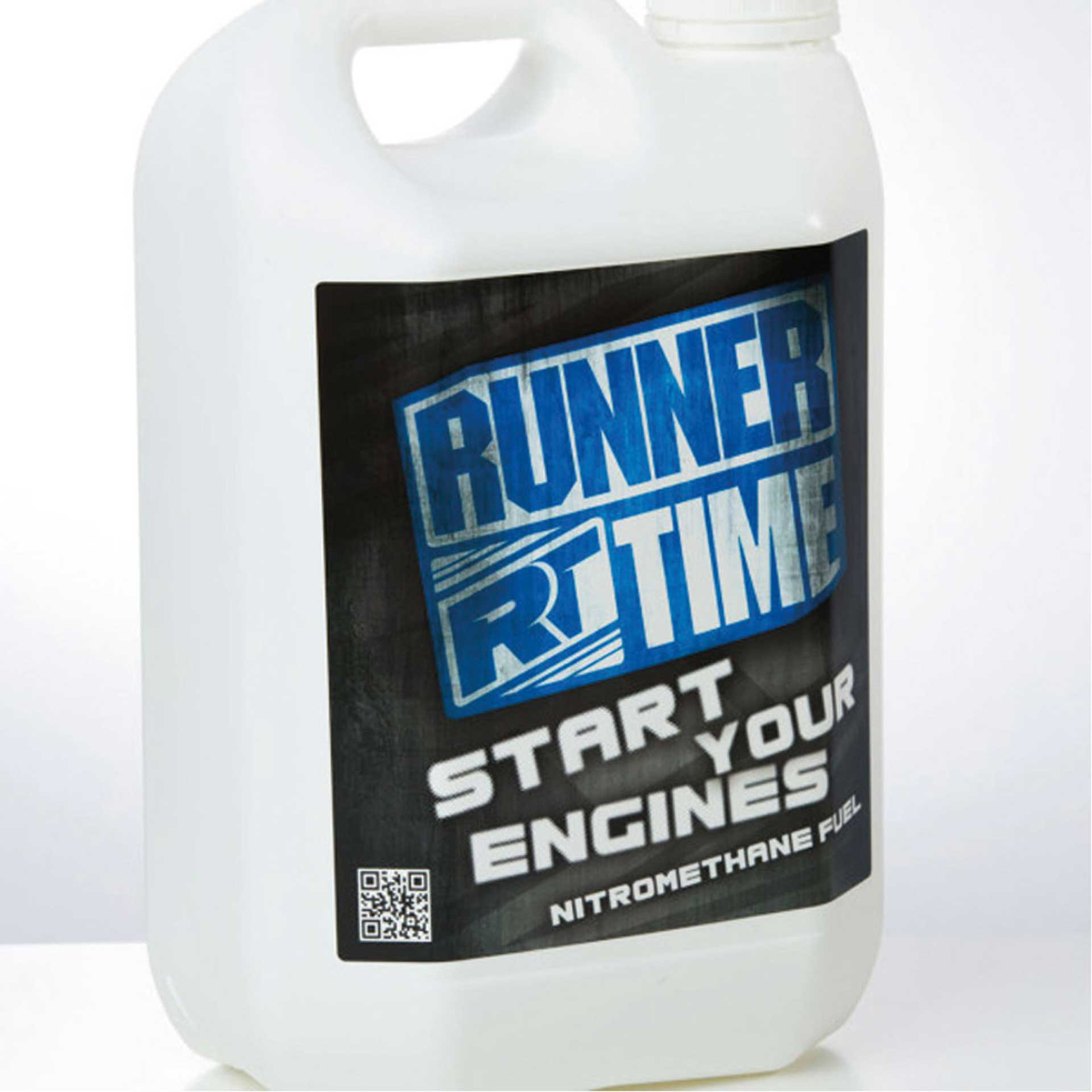 RUNNER TIME TOP 25% CAR SPRIT 5L 1/10 & 1/8 OFF ROAD, ON ROAD, I.F.M.A.R. WORLD CHAM