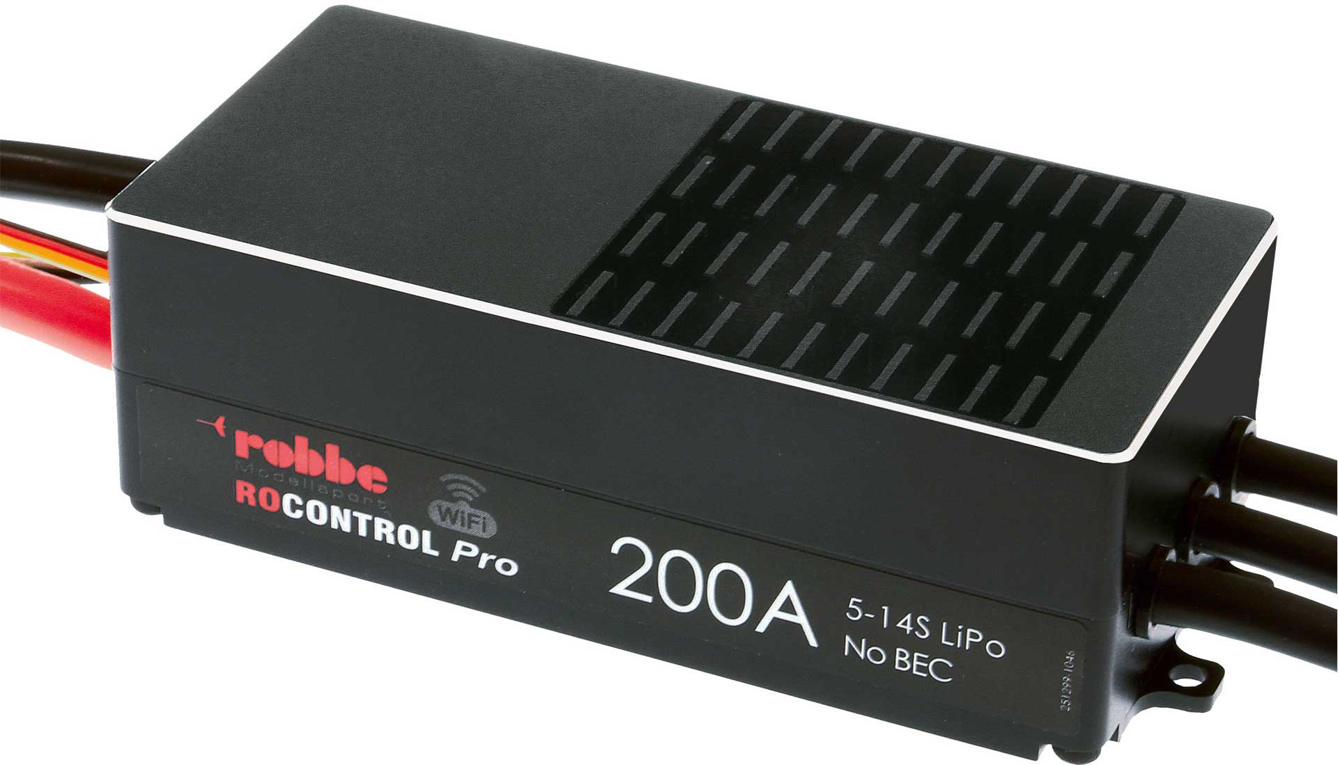 ROBBE RO-CONTROL PRO WIFI 5-14S 200A OPTO without plugs and jacks