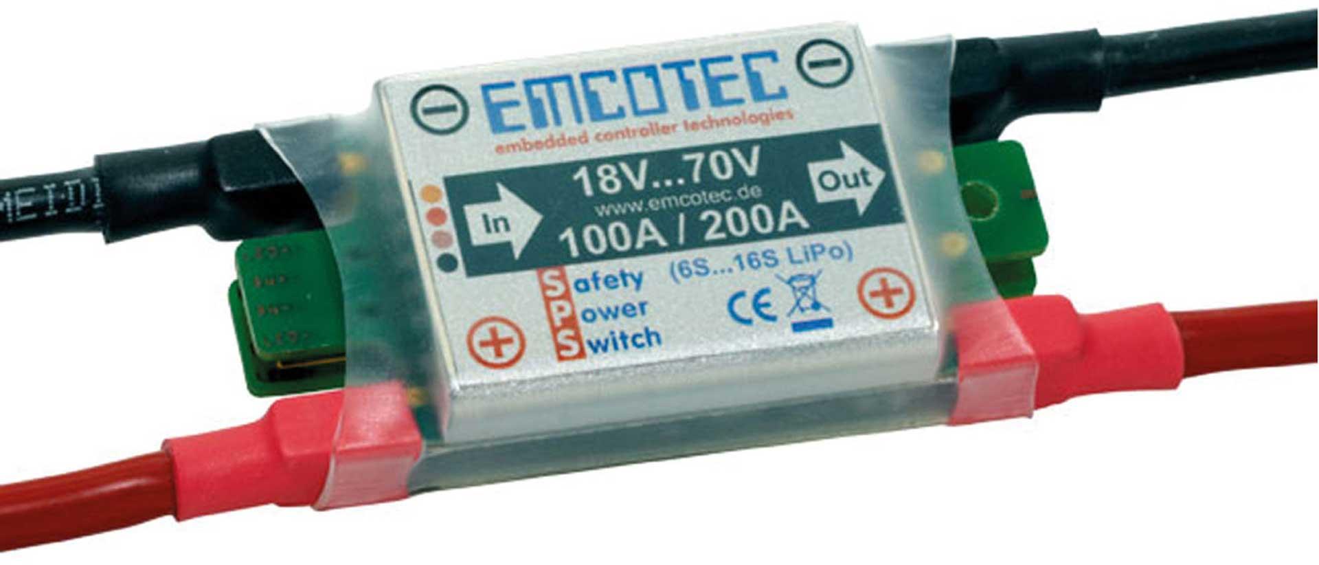 EMCOTEC SPS-Sicherheitsleistungsschalter 70V 100/200A A72011-1