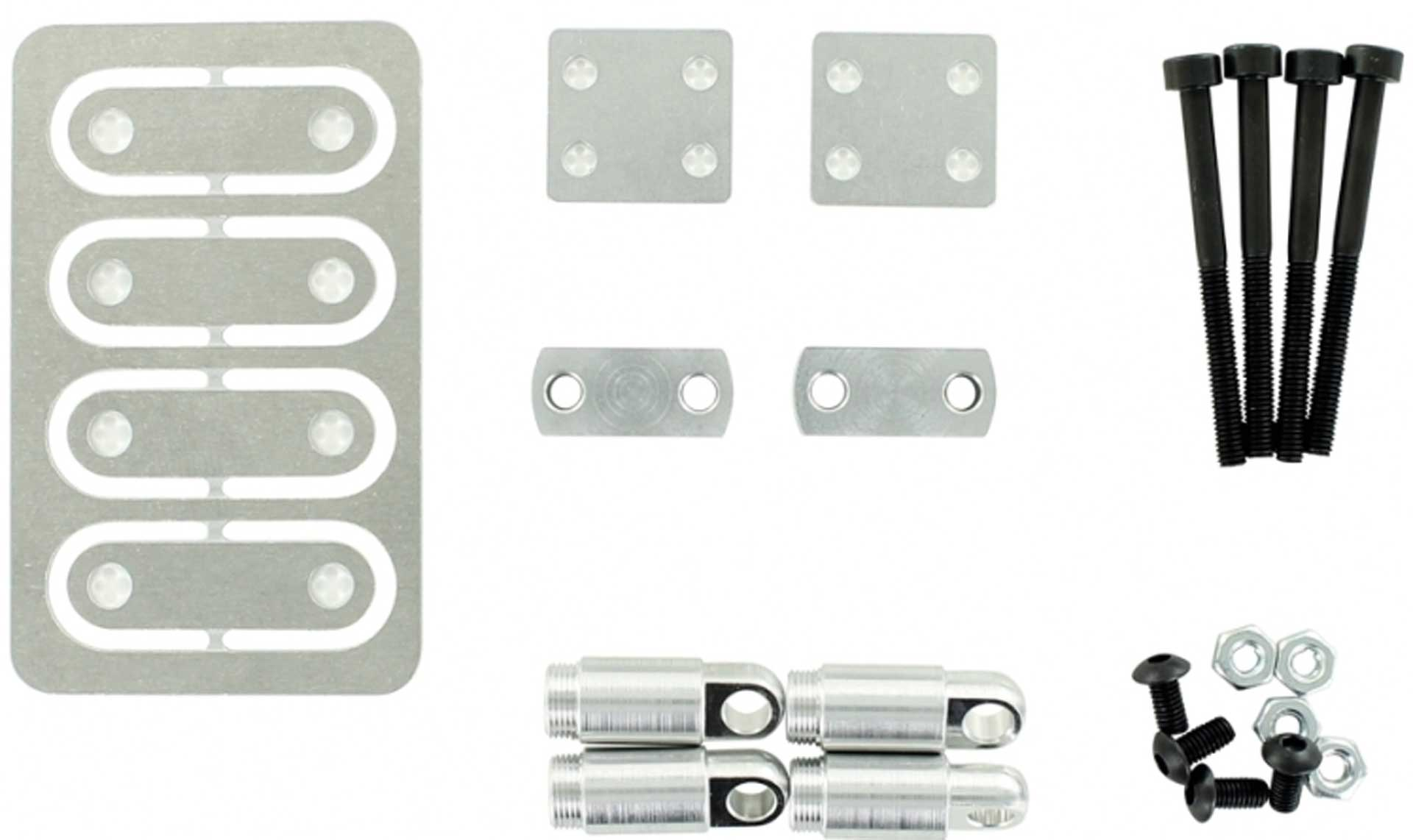 CARSON 1:14 Lifting kit +8mm for all 2-axle tractors
