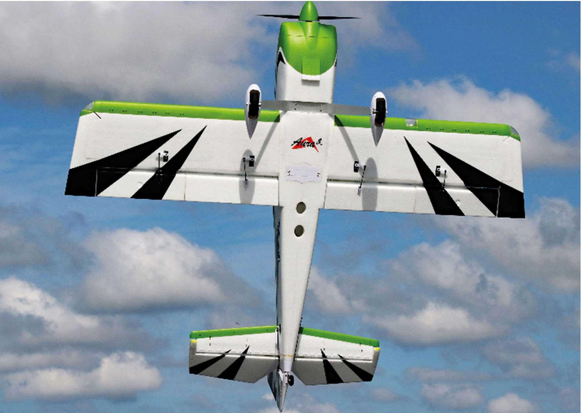 PREMIER AIRCRAFT RV-8 SUPER PNP NIGHT MIT AURA 8 UND NACHTFLUGBELEUCHTUNG GRÜN