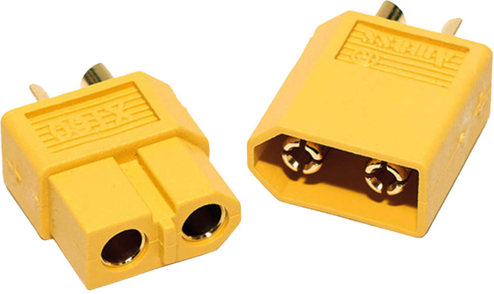 ROBBE XT-60 CONNECTORS FEMALE+MALE 3PAIRS